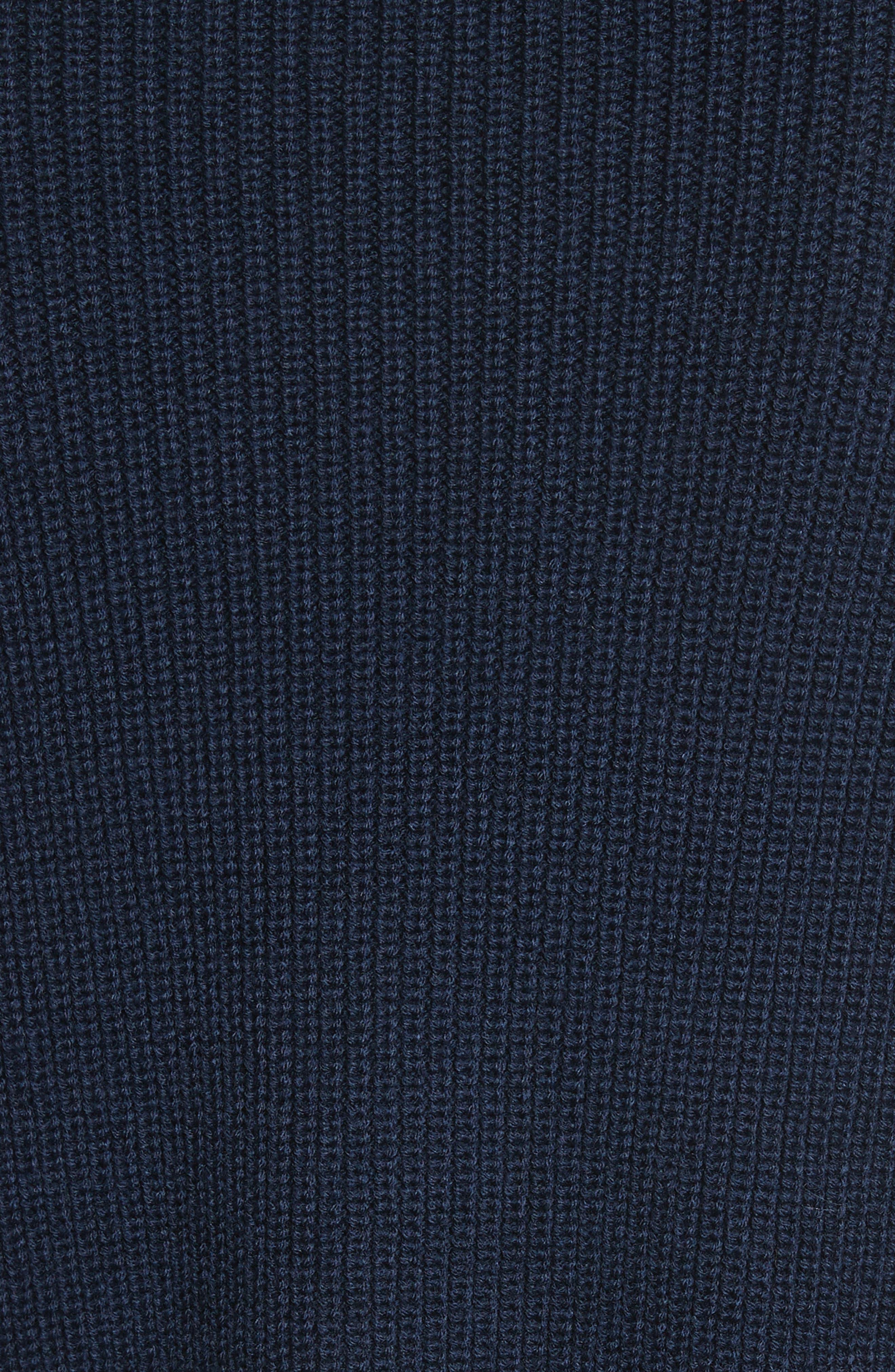 Bateau Neck Merino Wool Blend Sweater,                             Alternate thumbnail 5, color,                             410