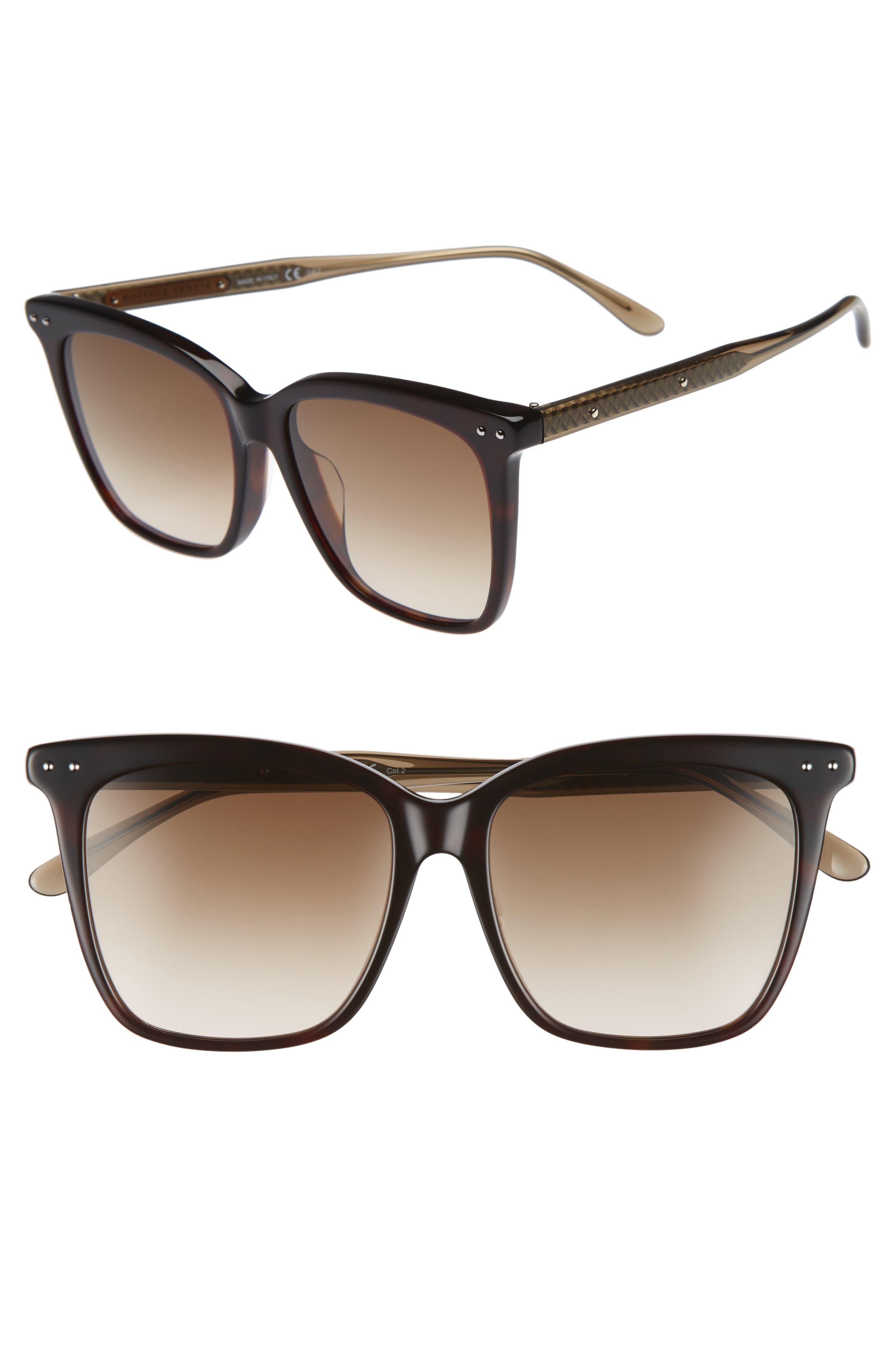 54mm Square Sunglasses,                             Main thumbnail 3, color,