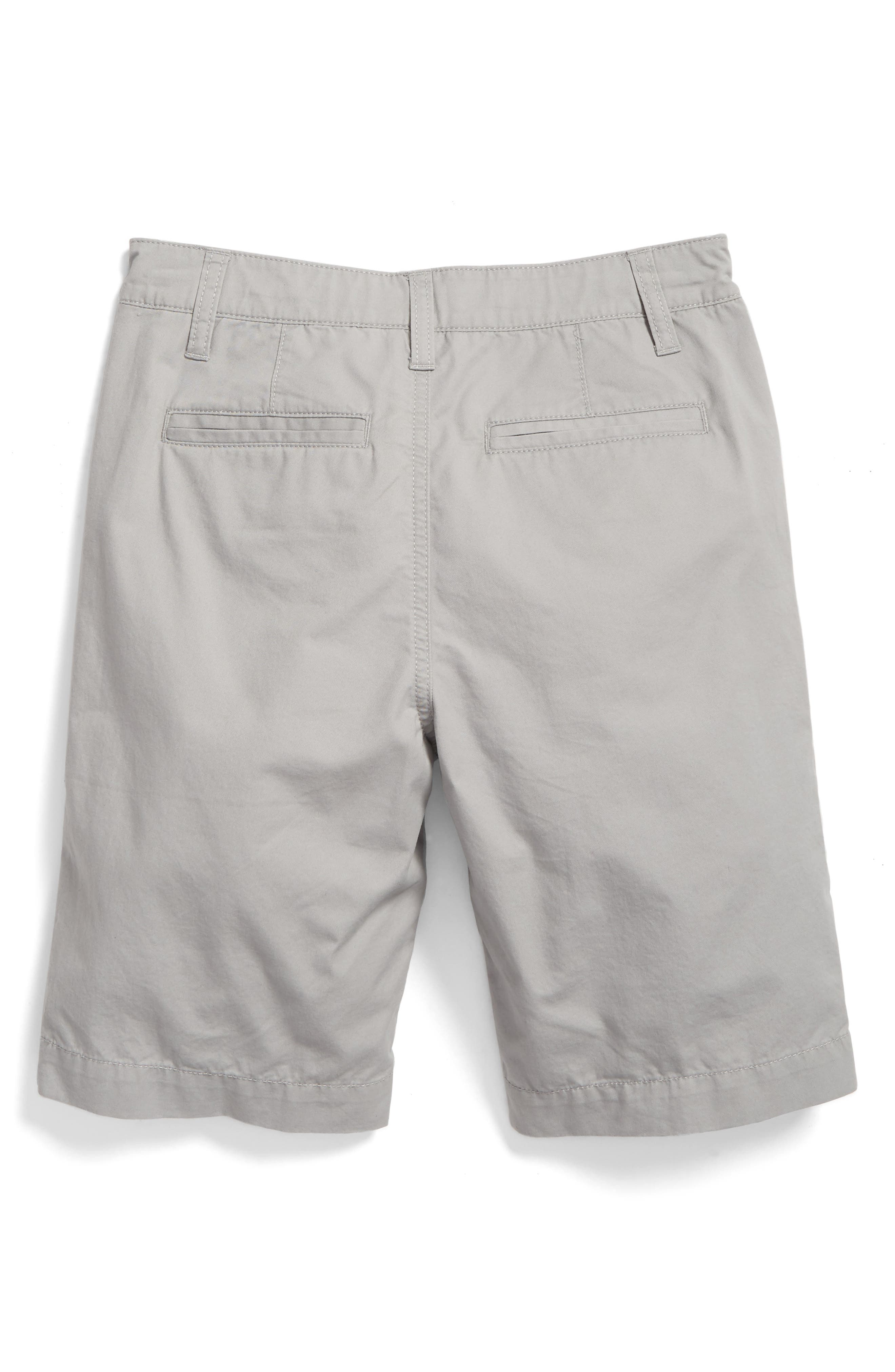 Chino Shorts,                             Main thumbnail 1, color,                             GREY ALLOY