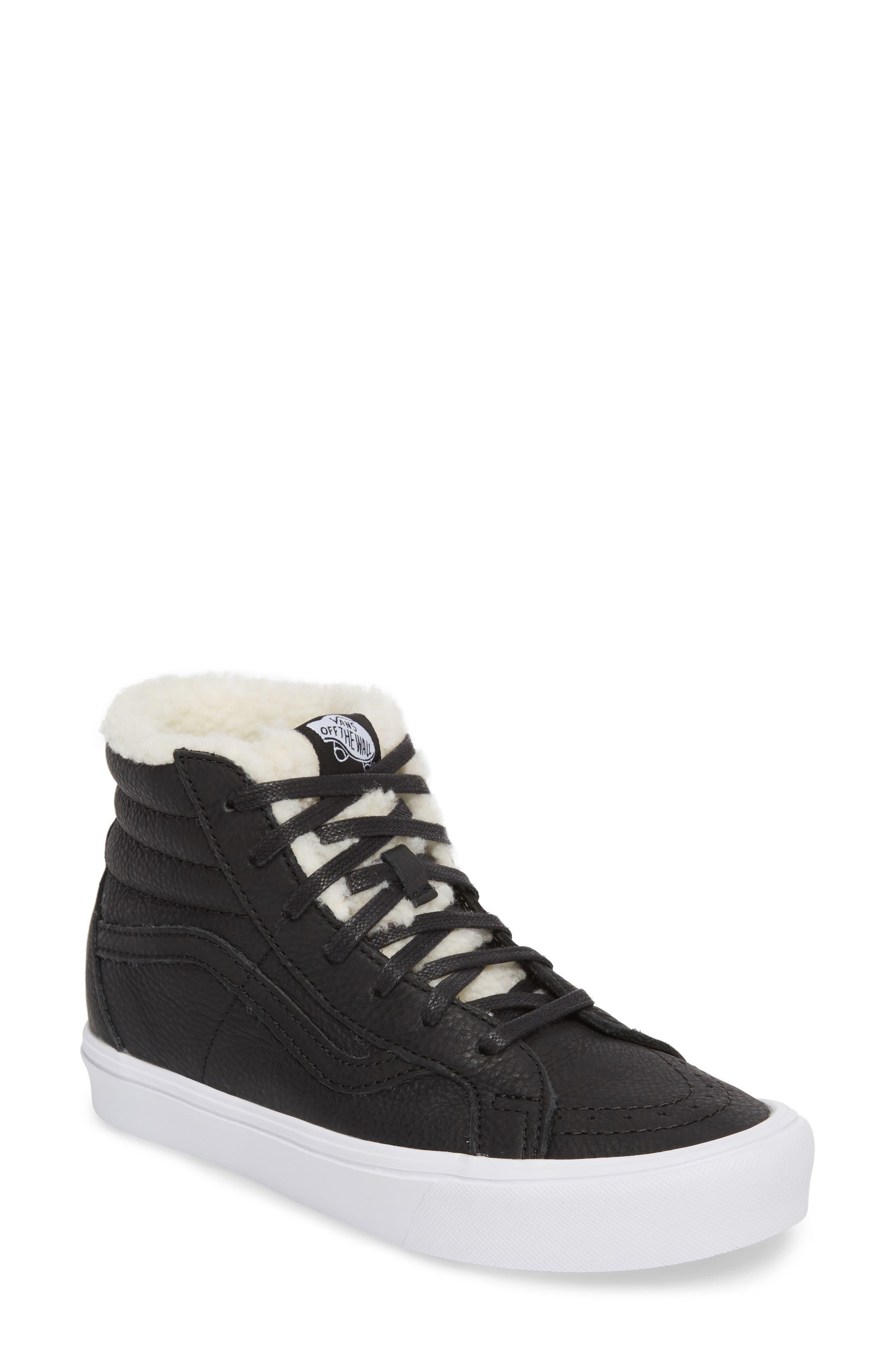 Sk8-Hi Reissue Lite High Top Sneaker,                             Main thumbnail 1, color,                             001