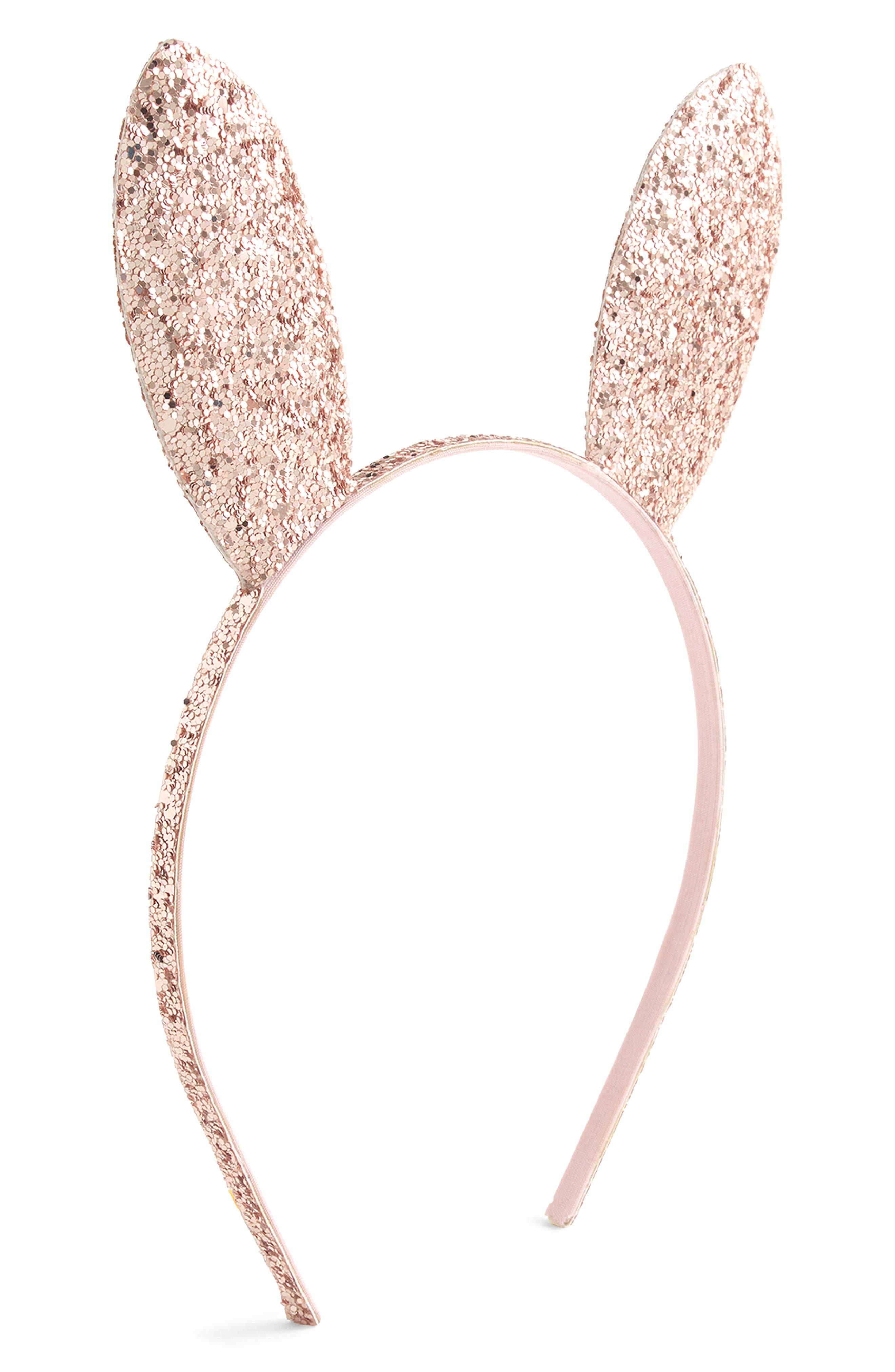 Crewcuts By Jcrew Glitter Bunny Ear Headband