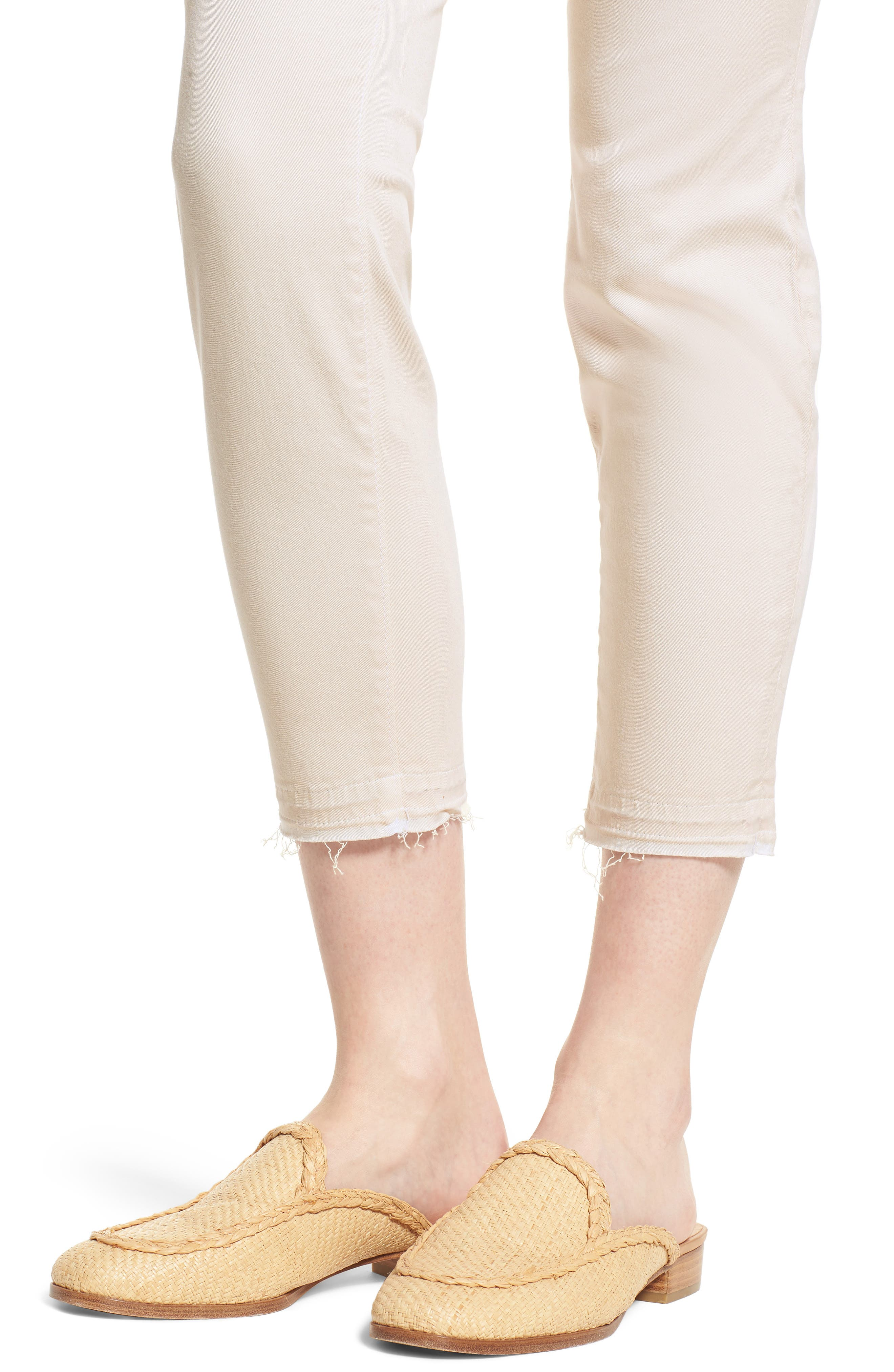 Ava Crop Skinny Jeans,                             Alternate thumbnail 4, color,                             906