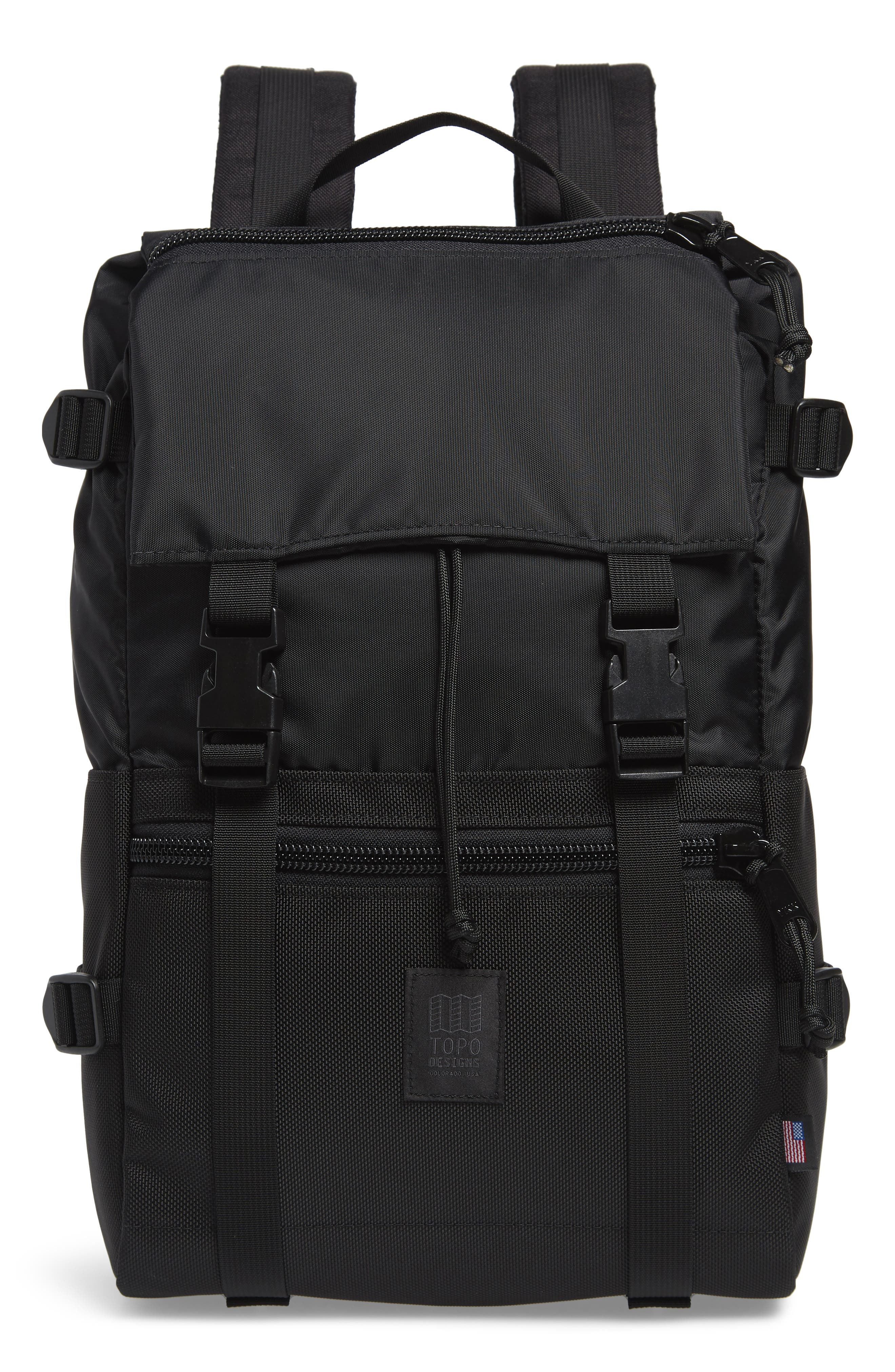 'Rover' Backpack,                             Main thumbnail 1, color,                             BALLISTIC BLACK