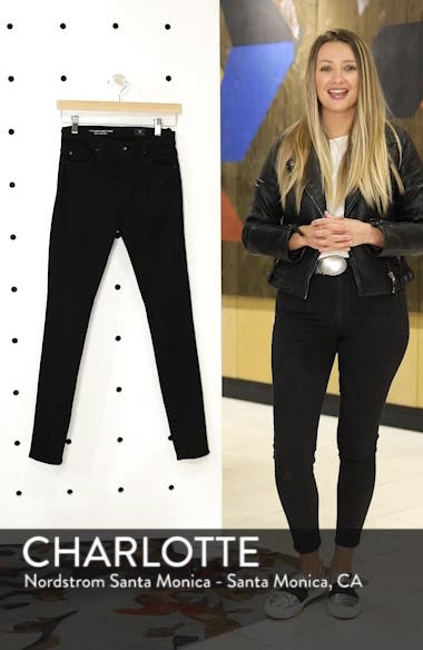 Farrah High Waist Ankle Skinny Jeans, sales video thumbnail