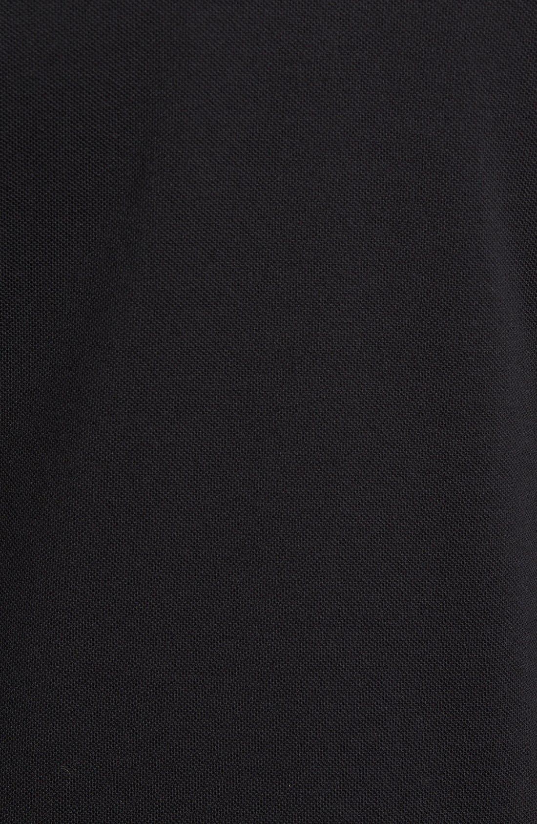 Brit 'Oxford' Long Sleeve Polo,                             Alternate thumbnail 2, color,                             001