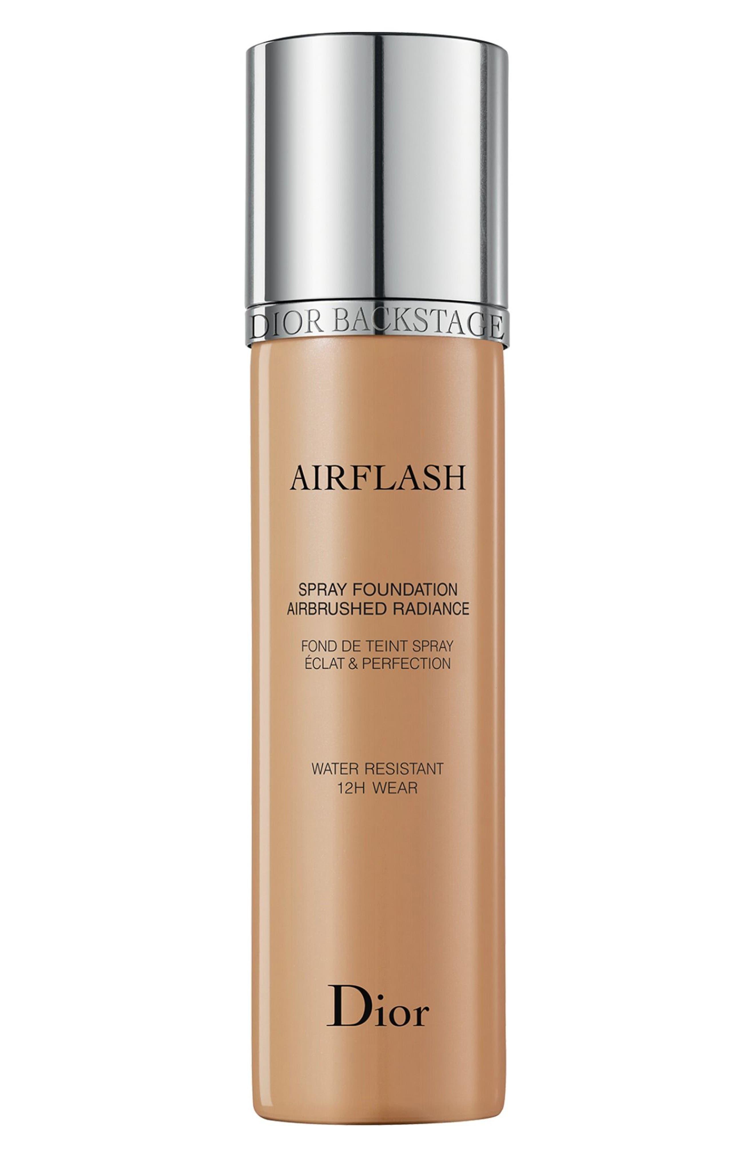 Diorskin Airflash Spray Foundation,                         Main,                         color, 401 OCHRE