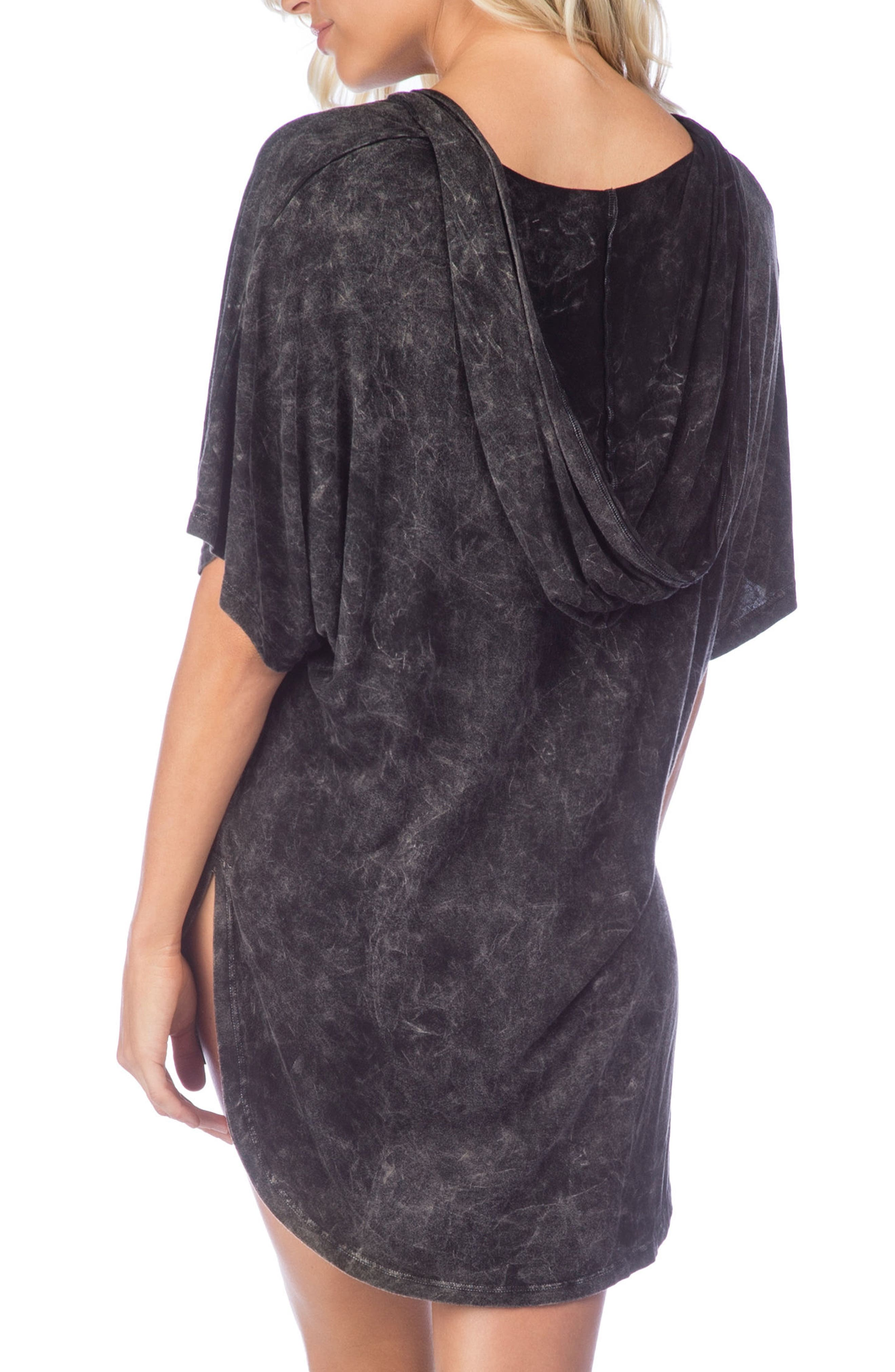 Riviera Hooded Cover-Up,                             Alternate thumbnail 2, color,                             001