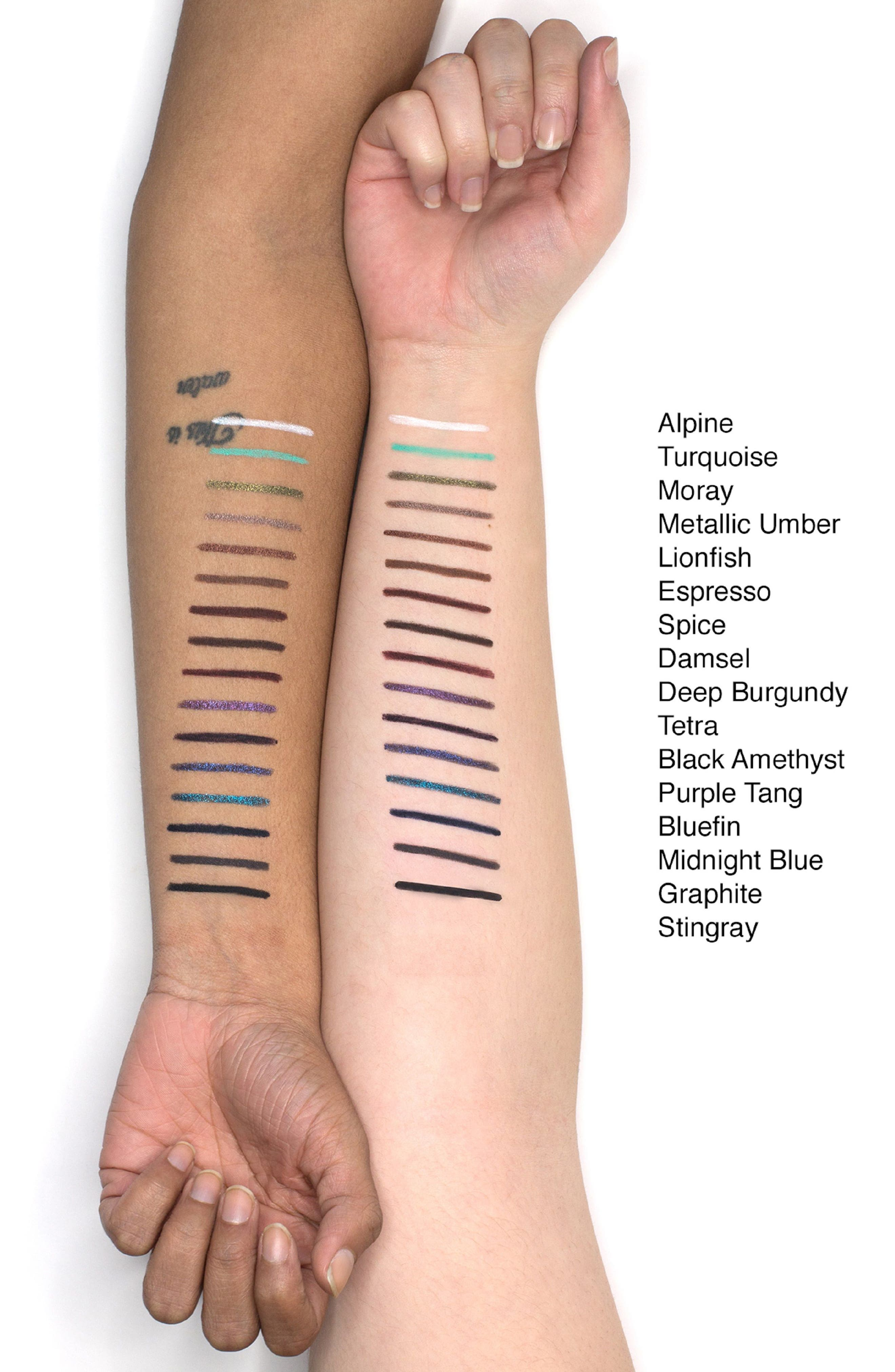 Smudge Stick Waterproof Eyeliner,                             Alternate thumbnail 3, color,                             DAMSEL