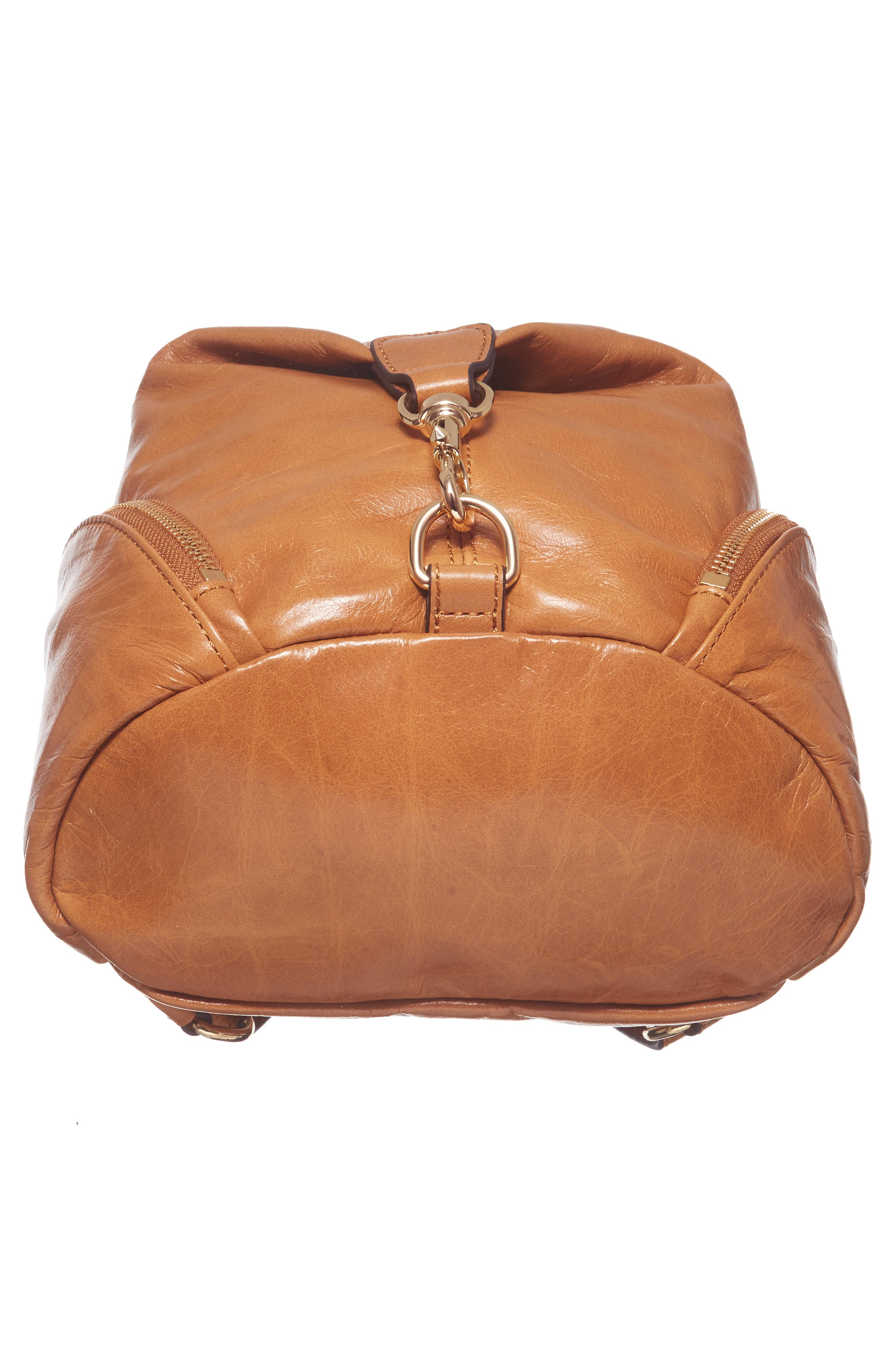 Medium Julian Leather Backpack,                             Alternate thumbnail 24, color,