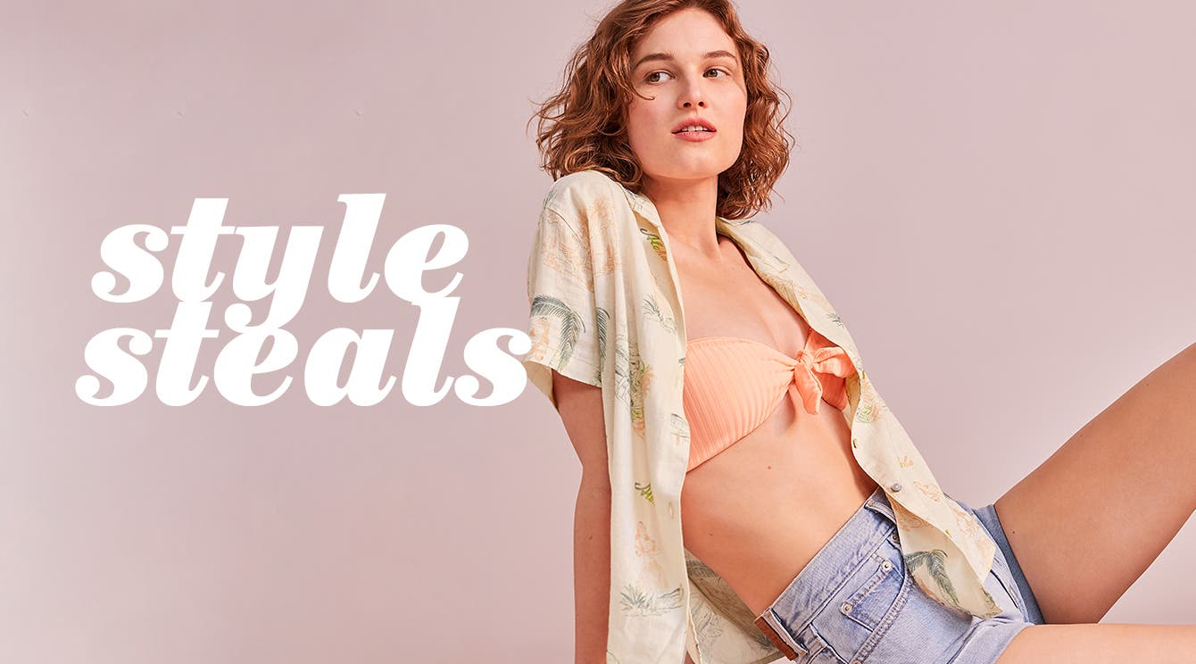 What's now: style steals under $100.