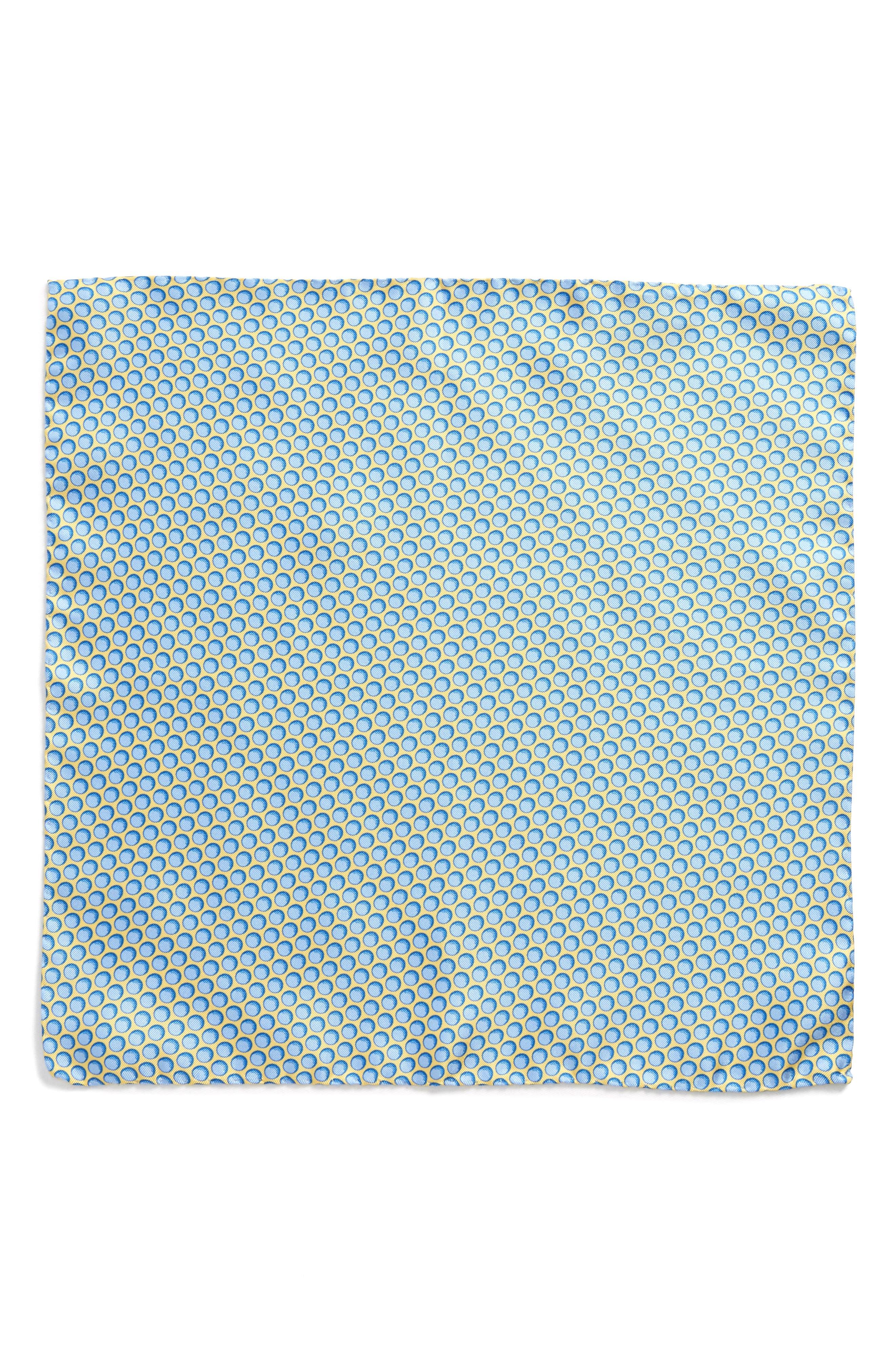 Sphere Silk Pocket Square,                             Alternate thumbnail 2, color,                             420