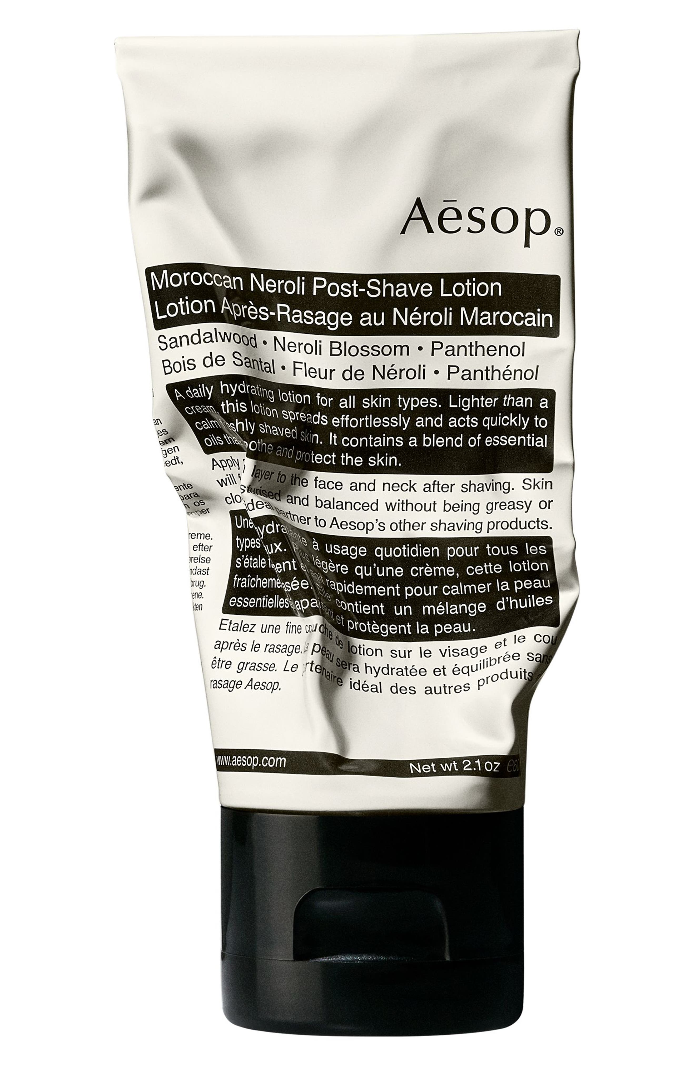 AESOP Moroccan Neroli Post-Shave Lotion, Main, color, NONE