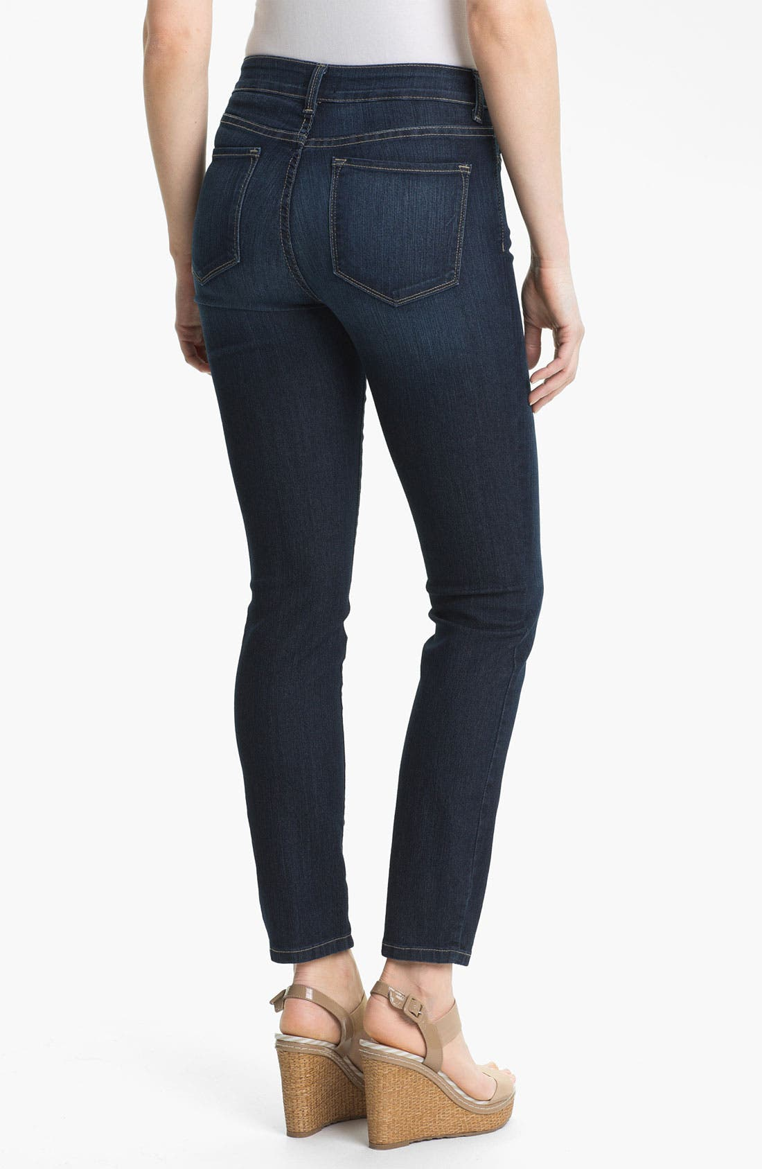 'Alina' Stretch Skinny Jeans,                             Alternate thumbnail 2, color,                             425
