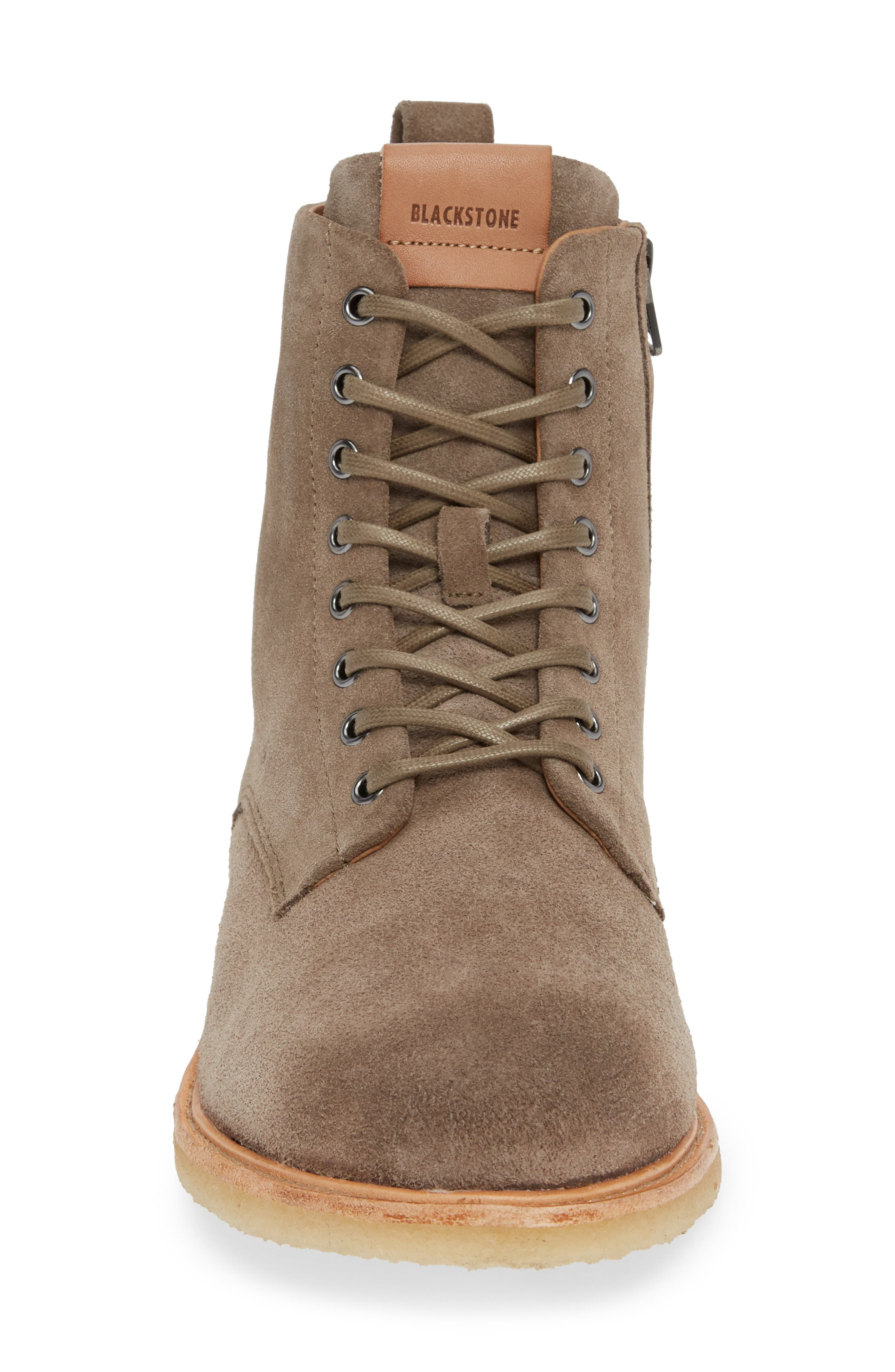 QM23 Plain Toe Boot,                             Alternate thumbnail 4, color,                             GREY