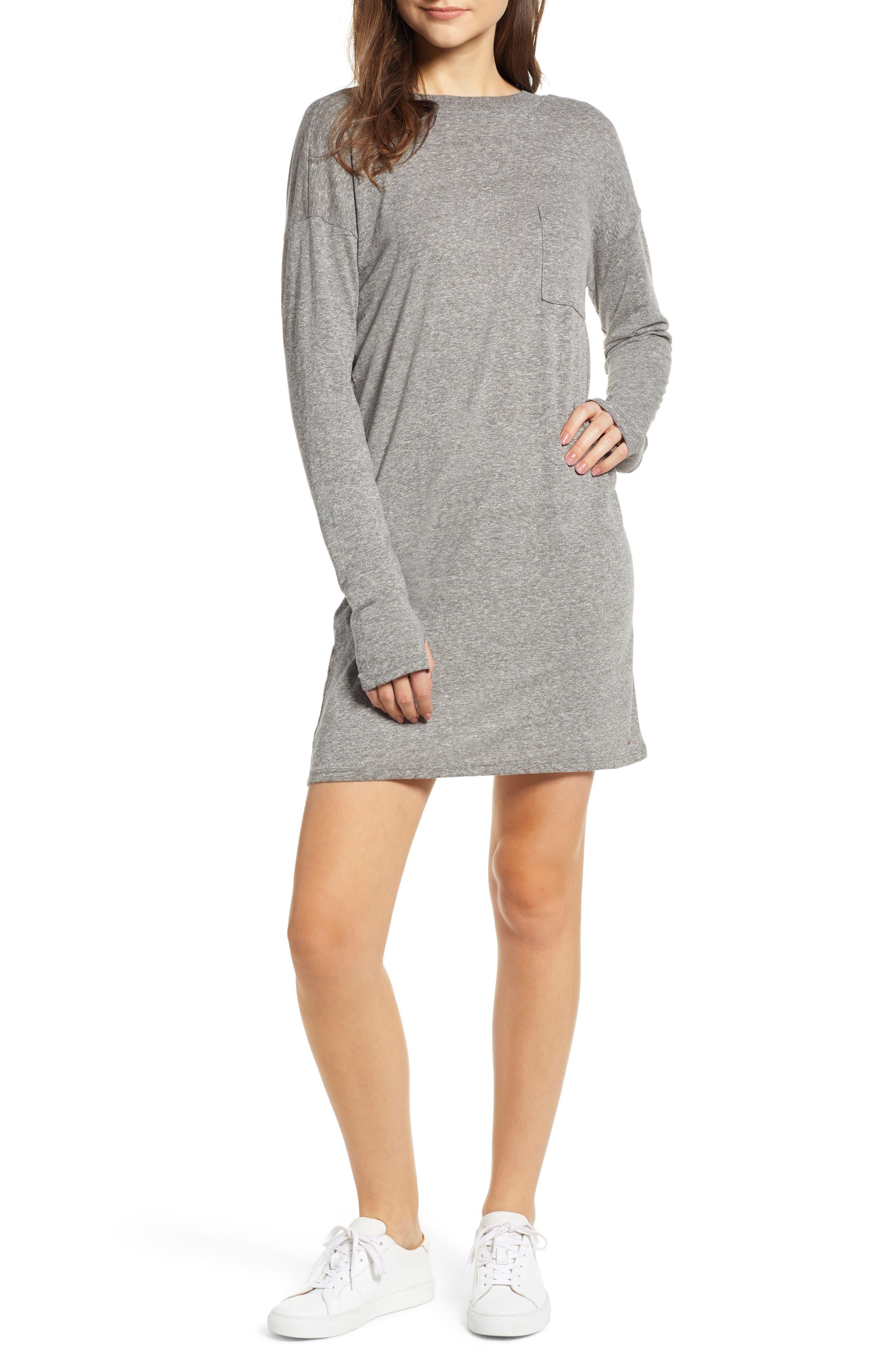 N PHILANTHROPY Cairo Knit Dress in Heather Grey