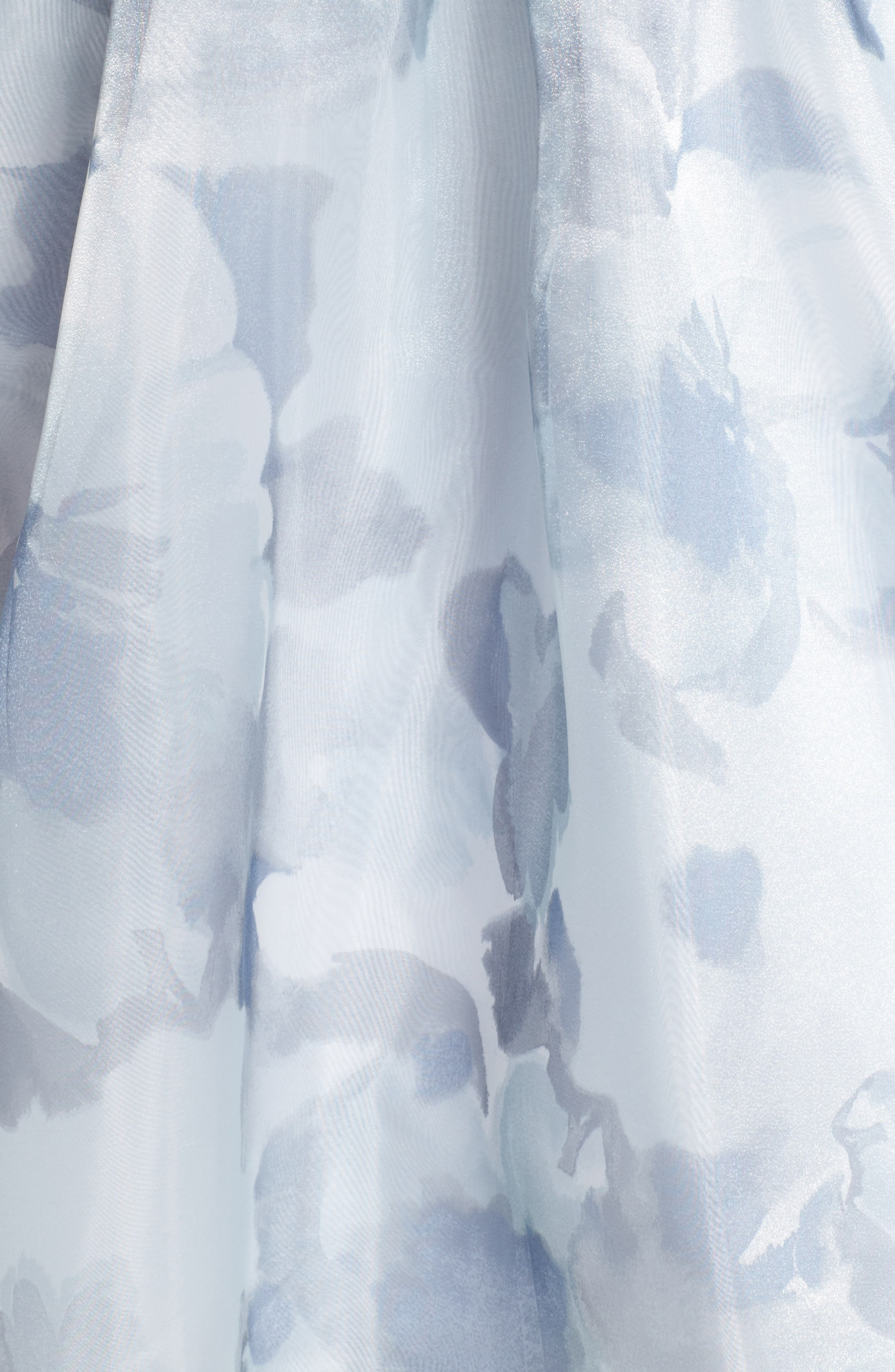 Belted Halter High/Low Dress,                             Alternate thumbnail 5, color,                             400