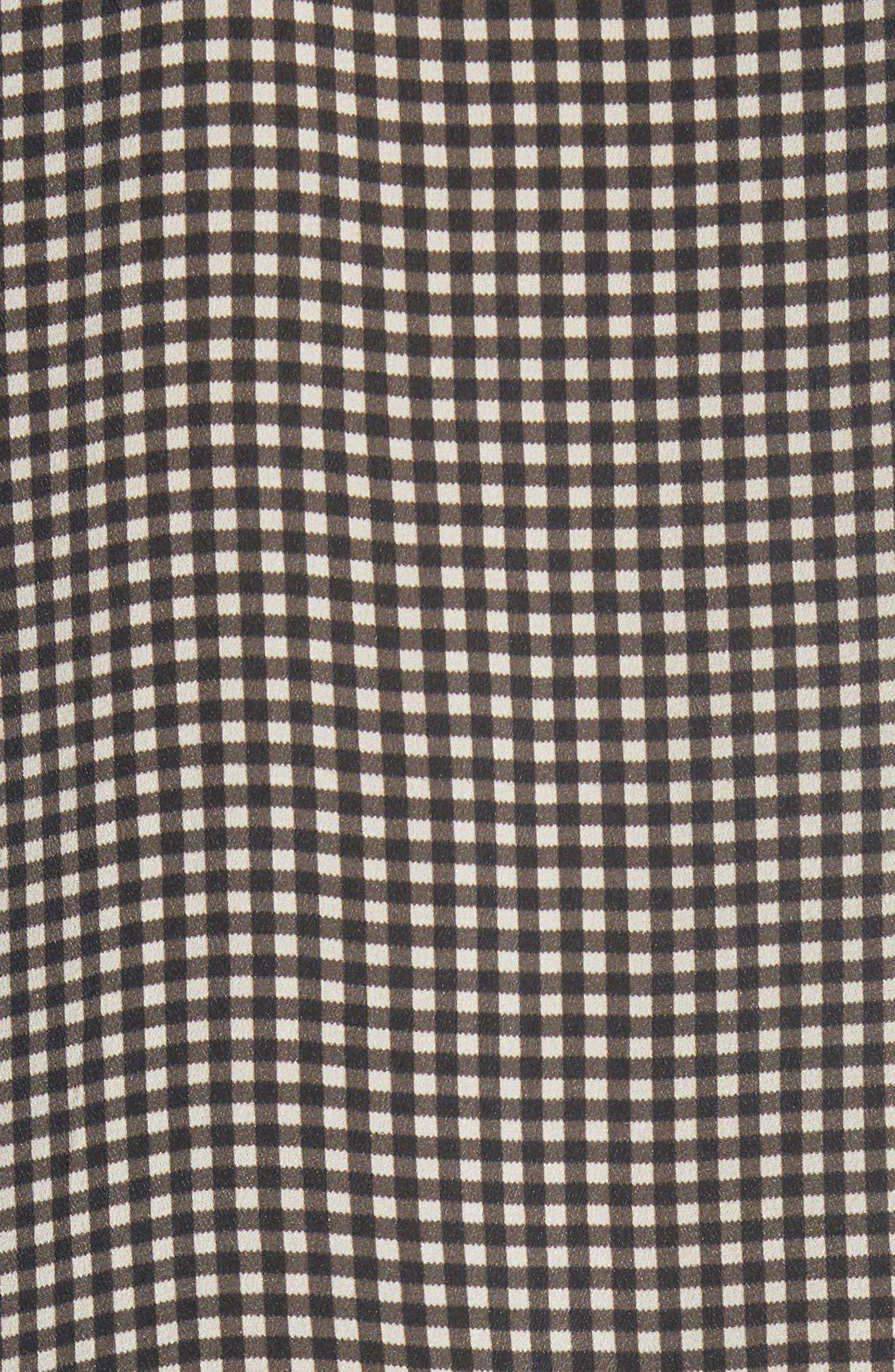 The Sweetie Silk Midi Dress,                             Alternate thumbnail 5, color,                             020