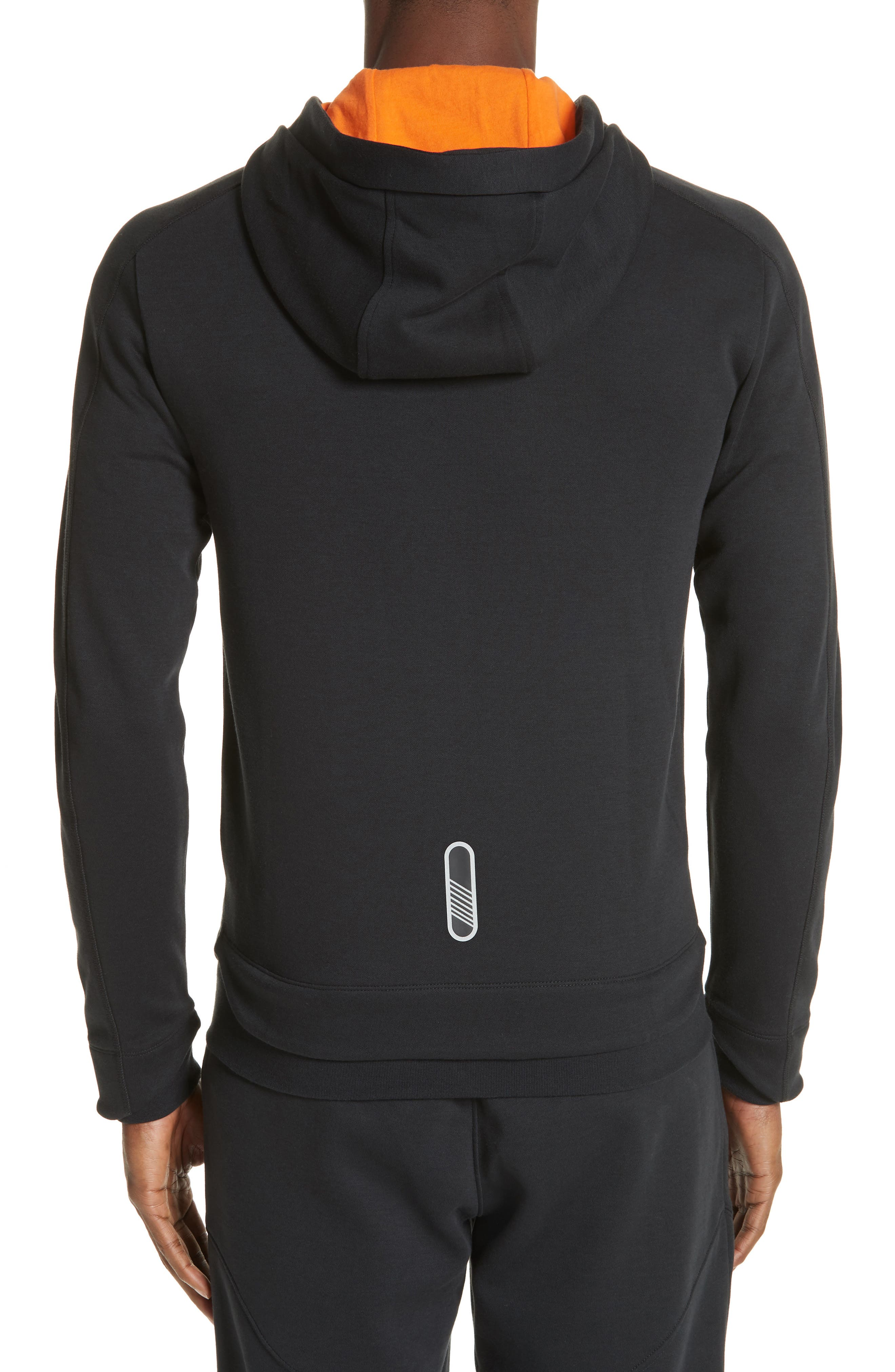 Ventus Zip Hoodie,                             Alternate thumbnail 2, color,                             BLACK