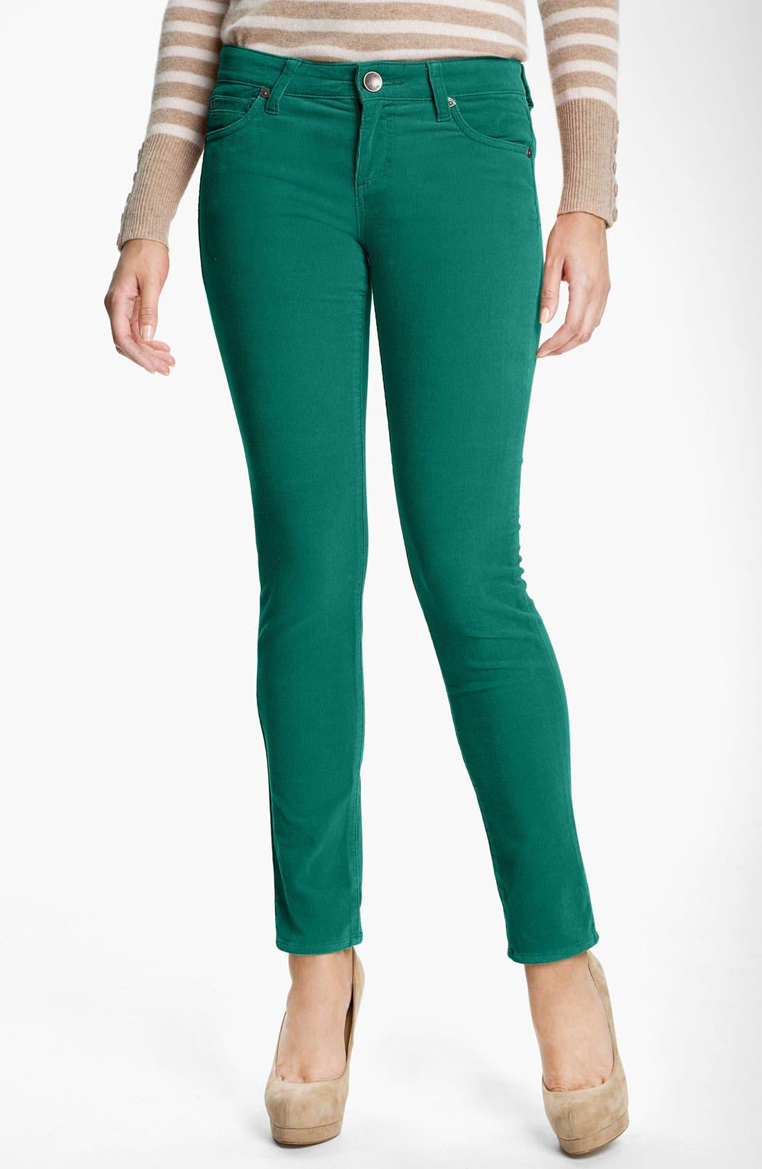 'Diana' Stretch Corduroy Skinny Pants,                             Main thumbnail 26, color,