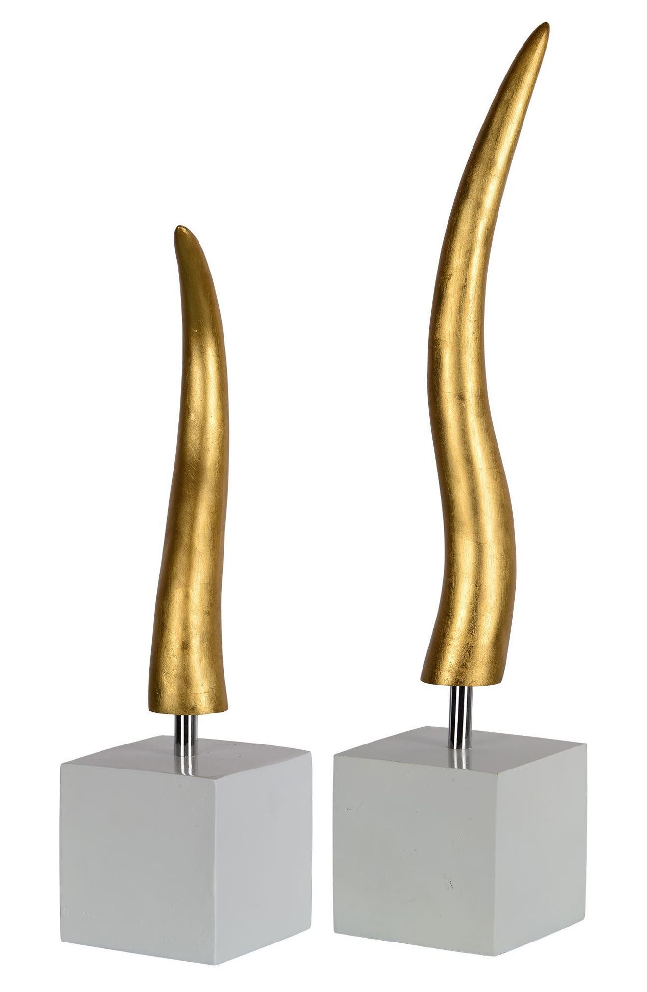 Osage Set of Two Statues,                             Alternate thumbnail 2, color,                             710