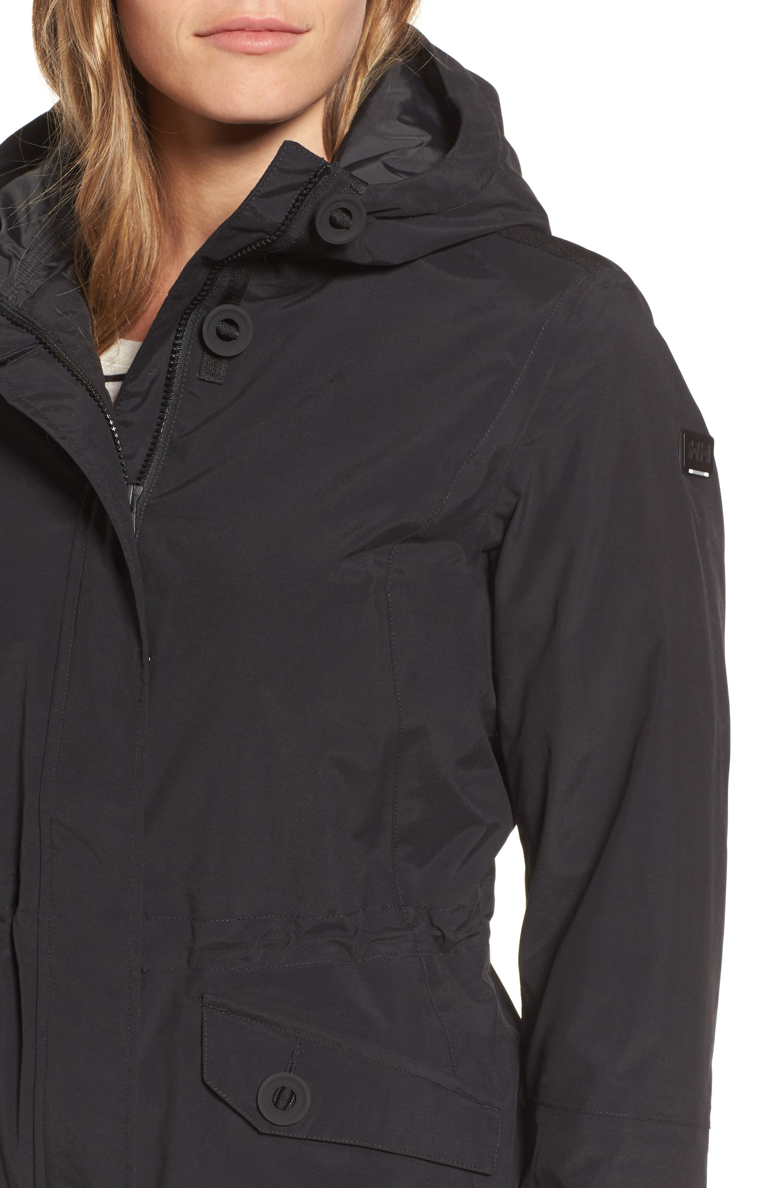 Donegal Waterproof PrimaLoft<sup>®</sup> Insulated Jacket,                             Alternate thumbnail 4, color,                             009