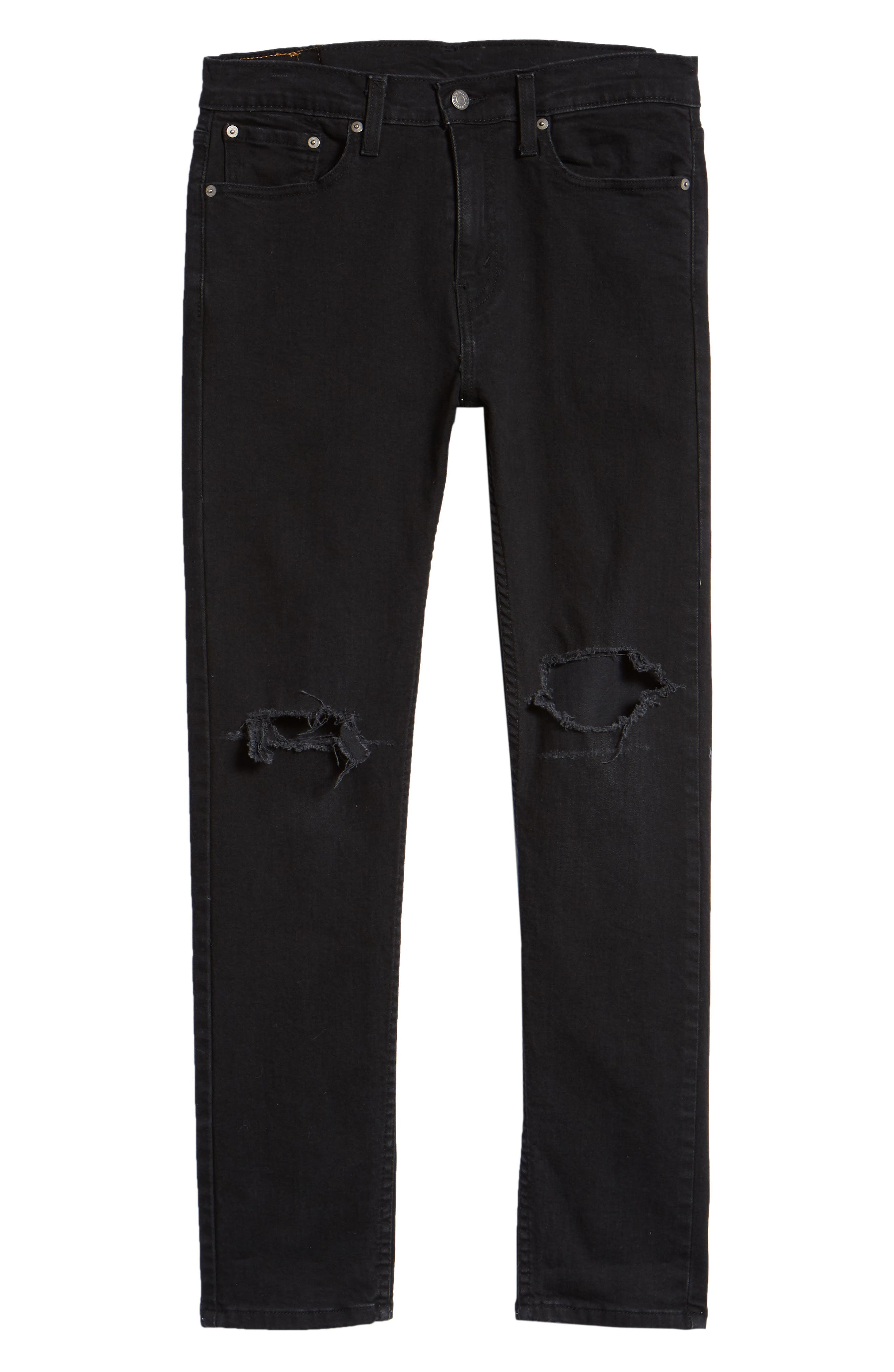 510<sup>™</sup> Skinny Fit Jeans,                             Alternate thumbnail 6, color,                             CRASHED