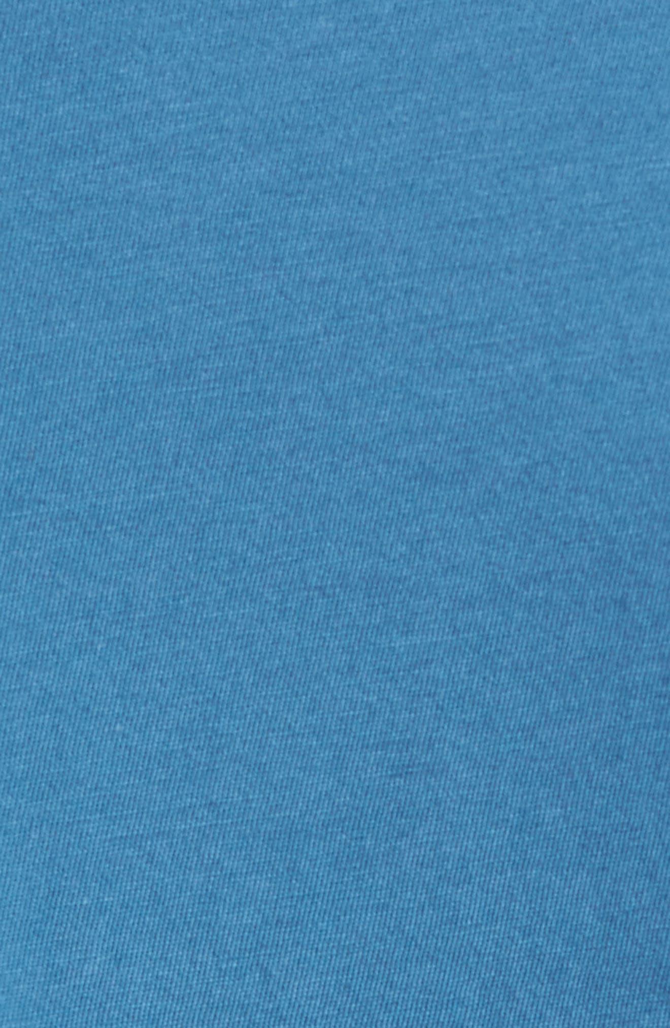 Slim Fit T-Shirt,                             Alternate thumbnail 5, color,                             SANTORINI