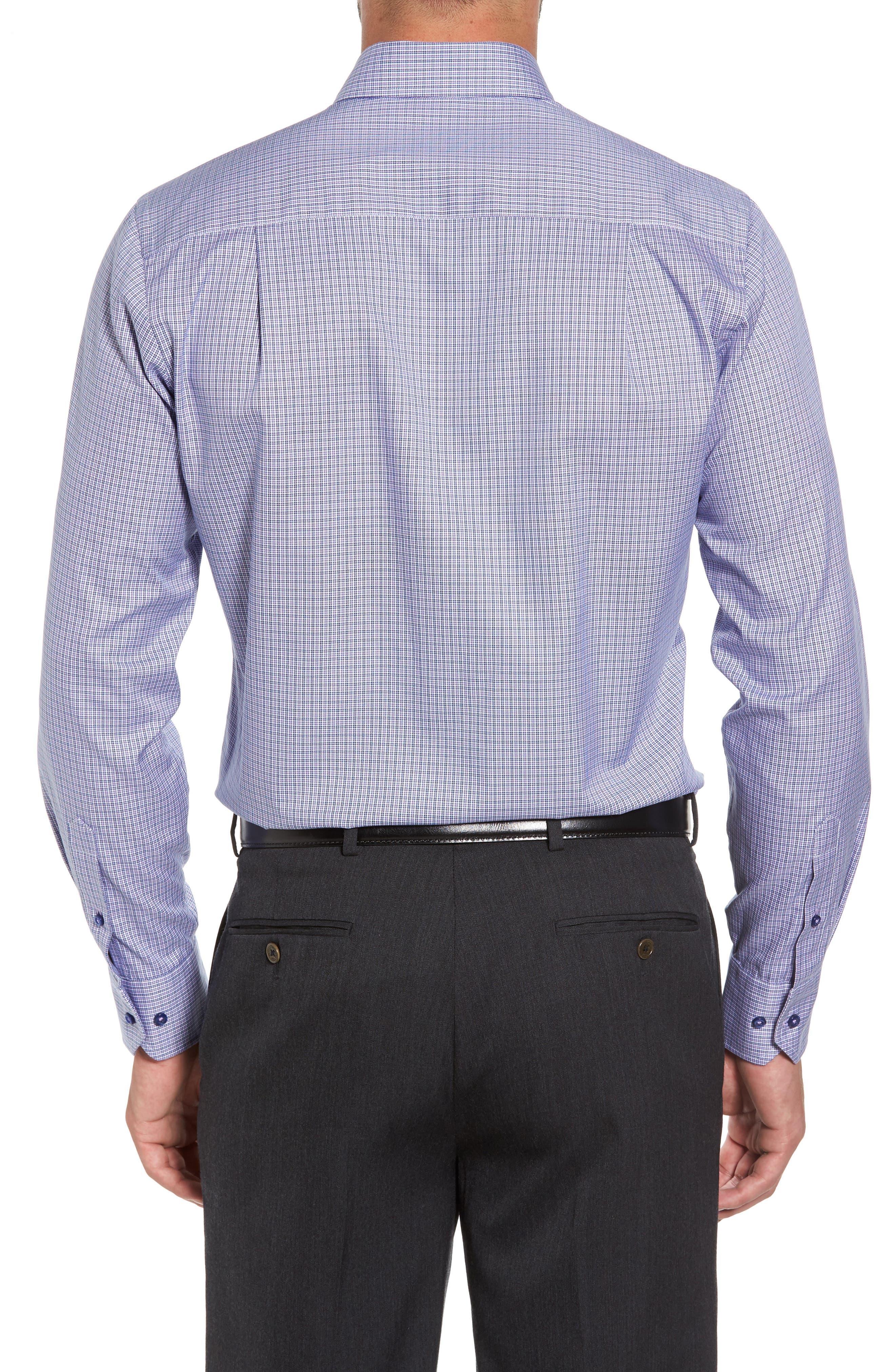 Microcheck Sport Shirt,                             Alternate thumbnail 2, color,                             431