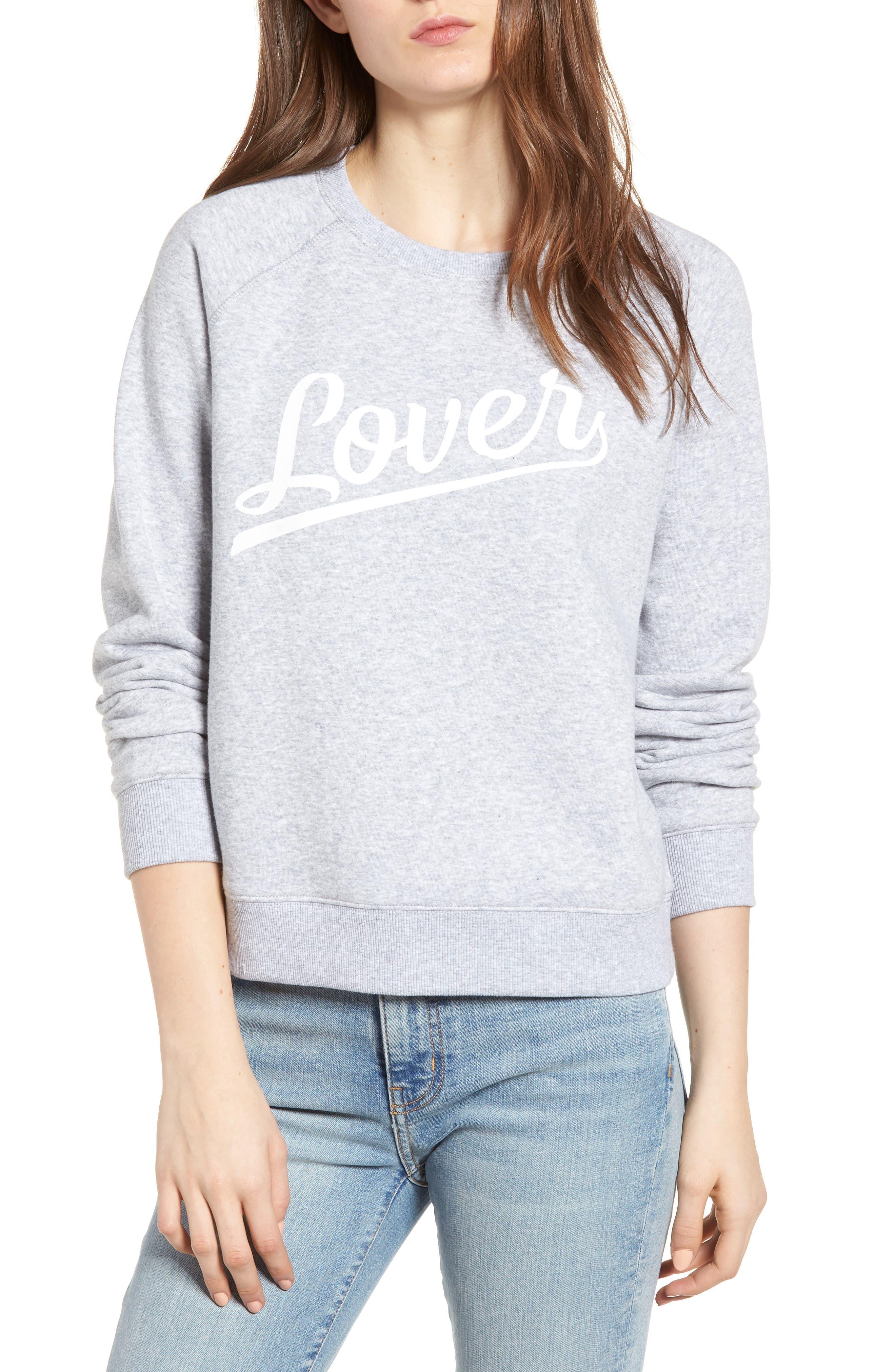 Lover Sweatshirt, Main, color, 038