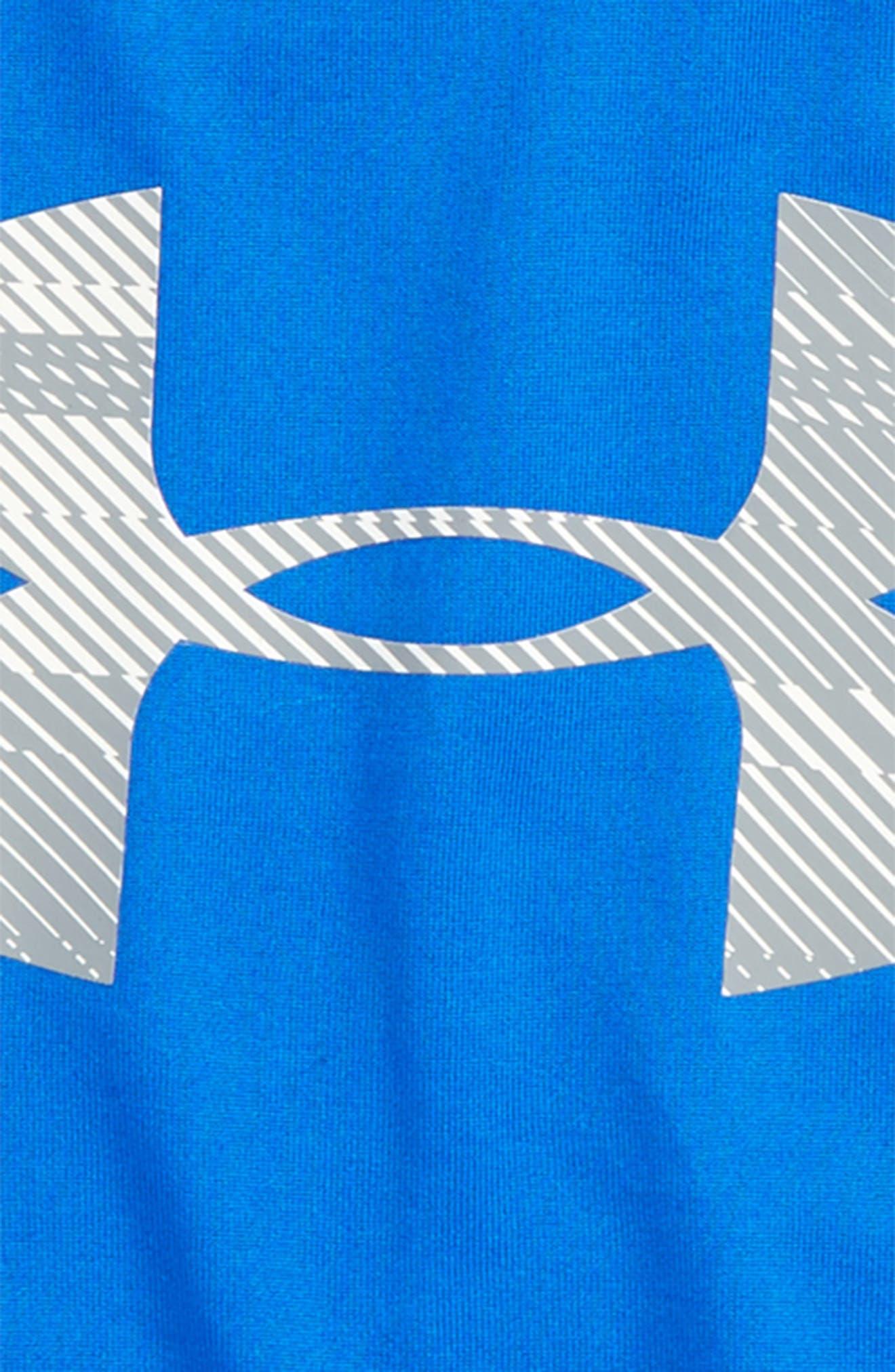 Speed Lines HeatGear<sup>®</sup> T-Shirt,                             Alternate thumbnail 2, color,                             410
