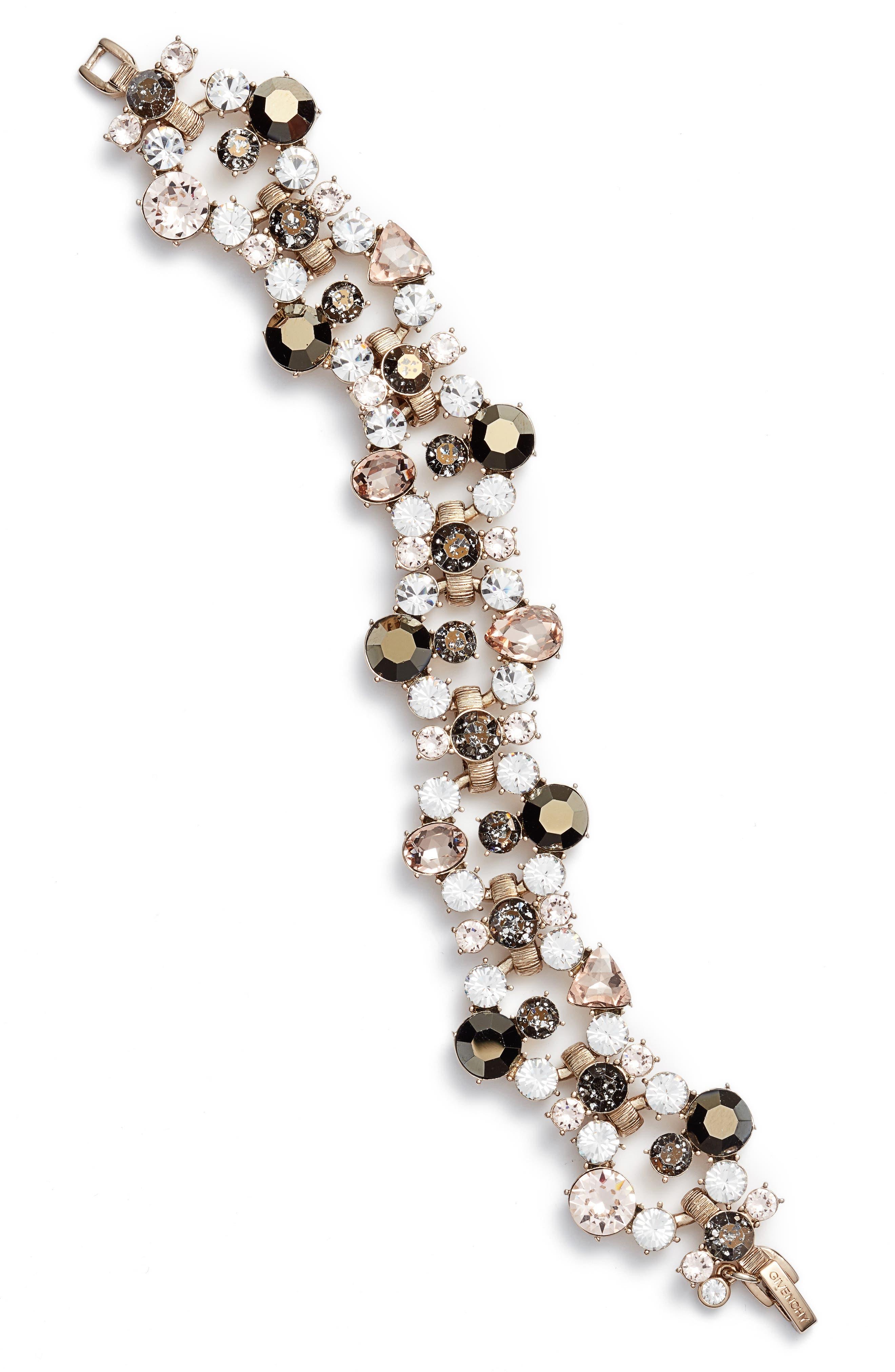 Crystal Flex Bracelet,                             Main thumbnail 1, color,                             710