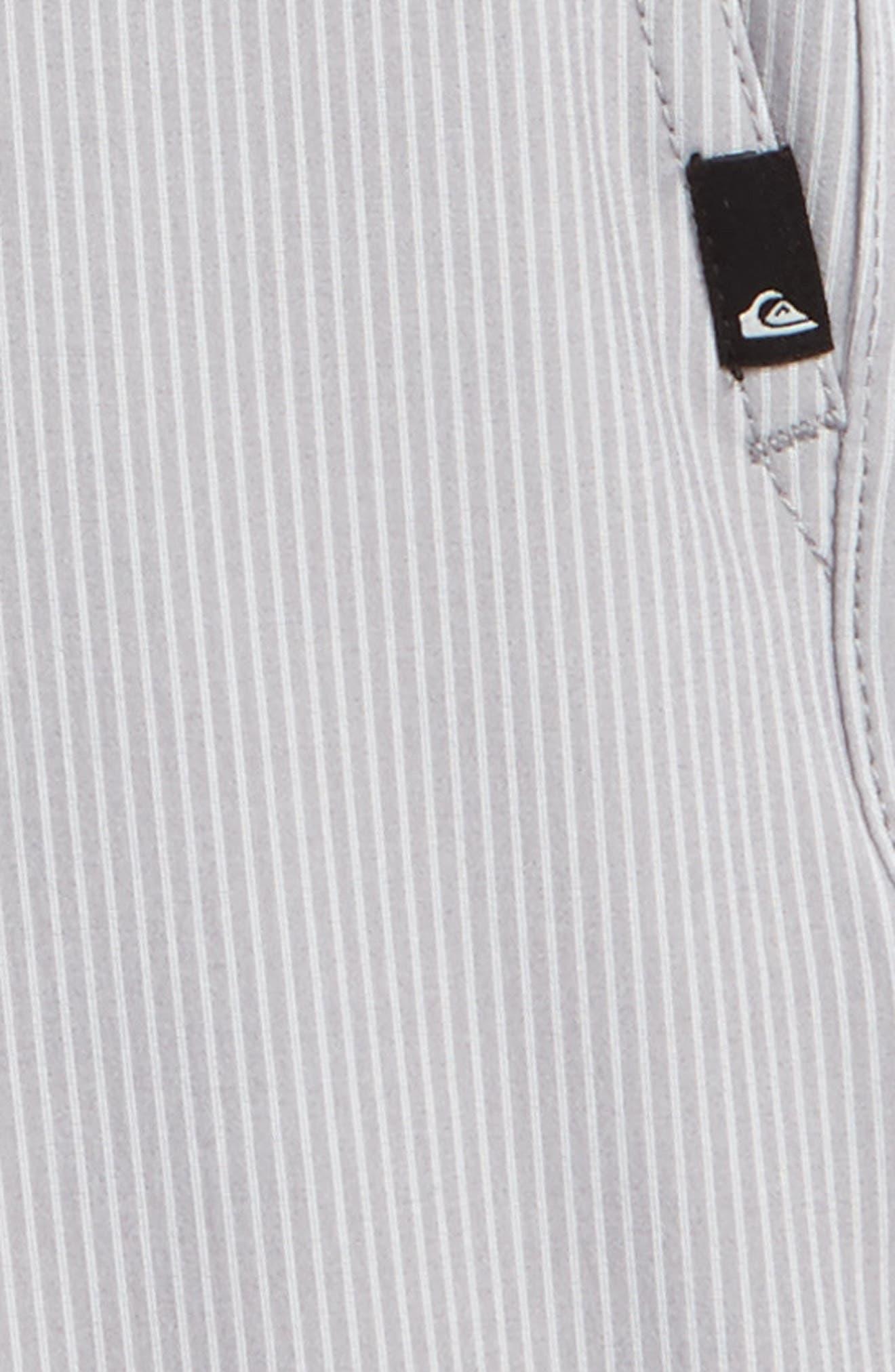 Union Pinstripe Amphibian Board Shorts,                             Alternate thumbnail 3, color,                             031