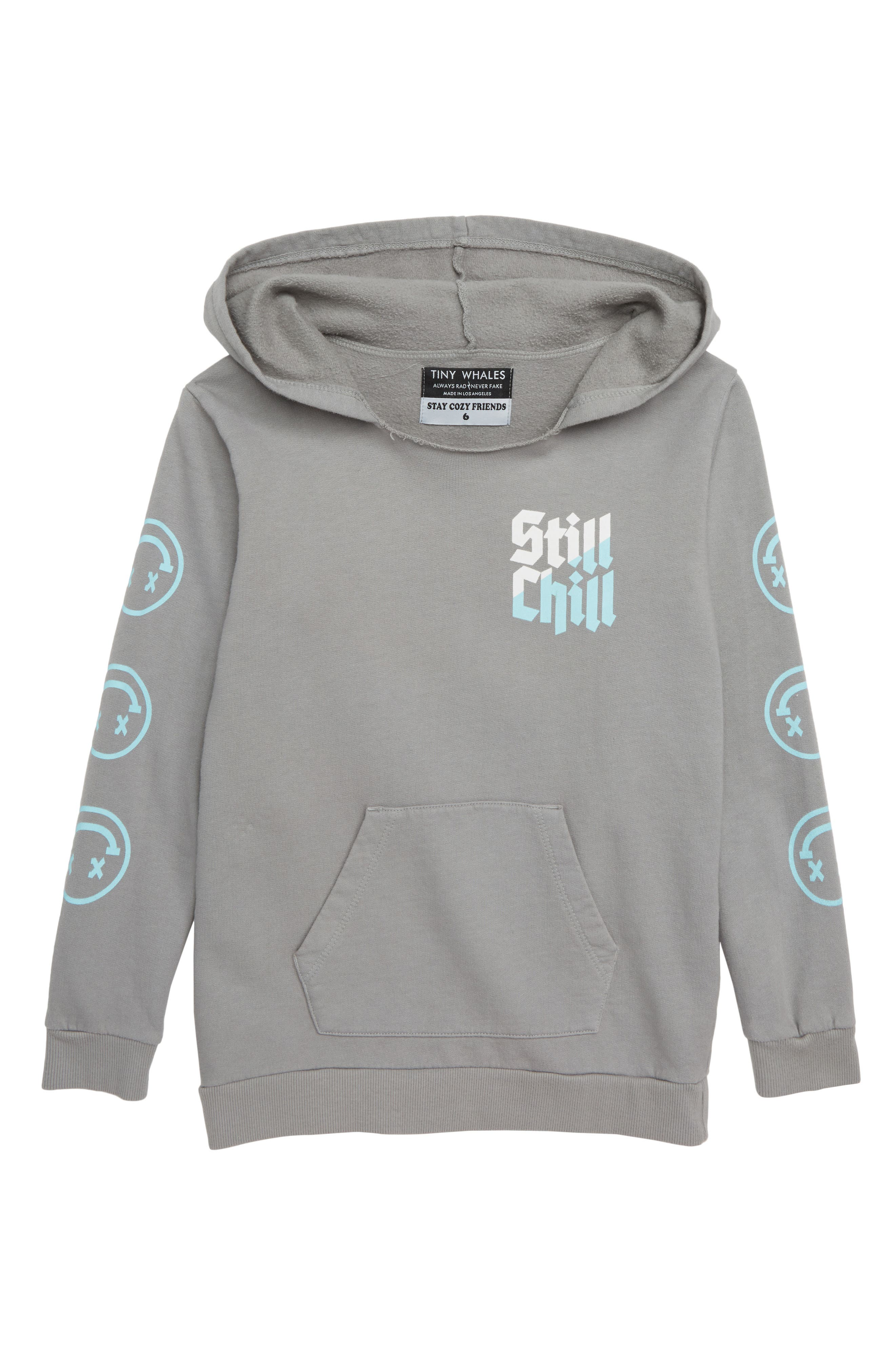 Still Chill Hoodie,                             Main thumbnail 1, color,                             SLATE