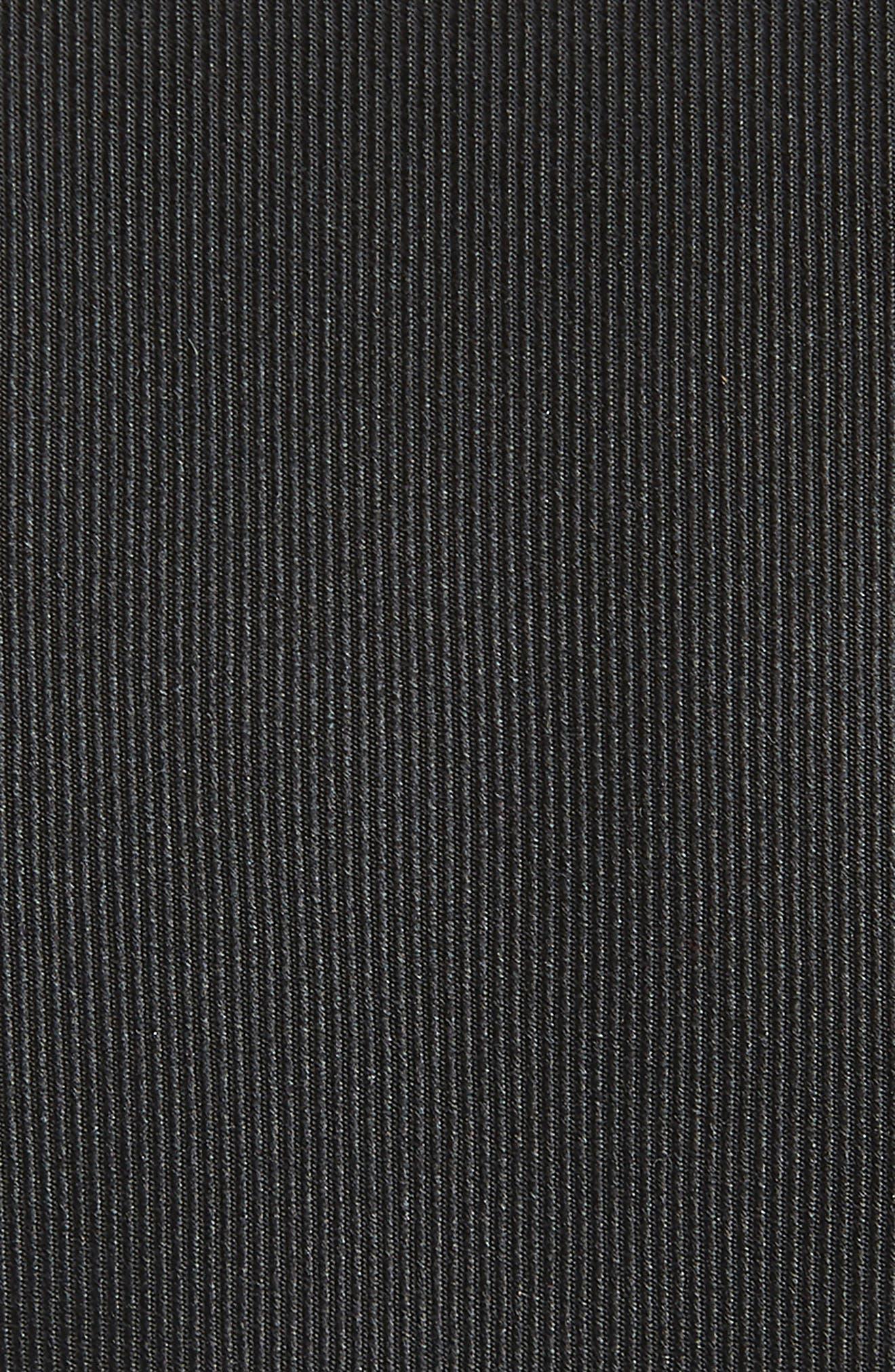 Lucaya Solid Silk Tie,                             Alternate thumbnail 2, color,                             BLACK