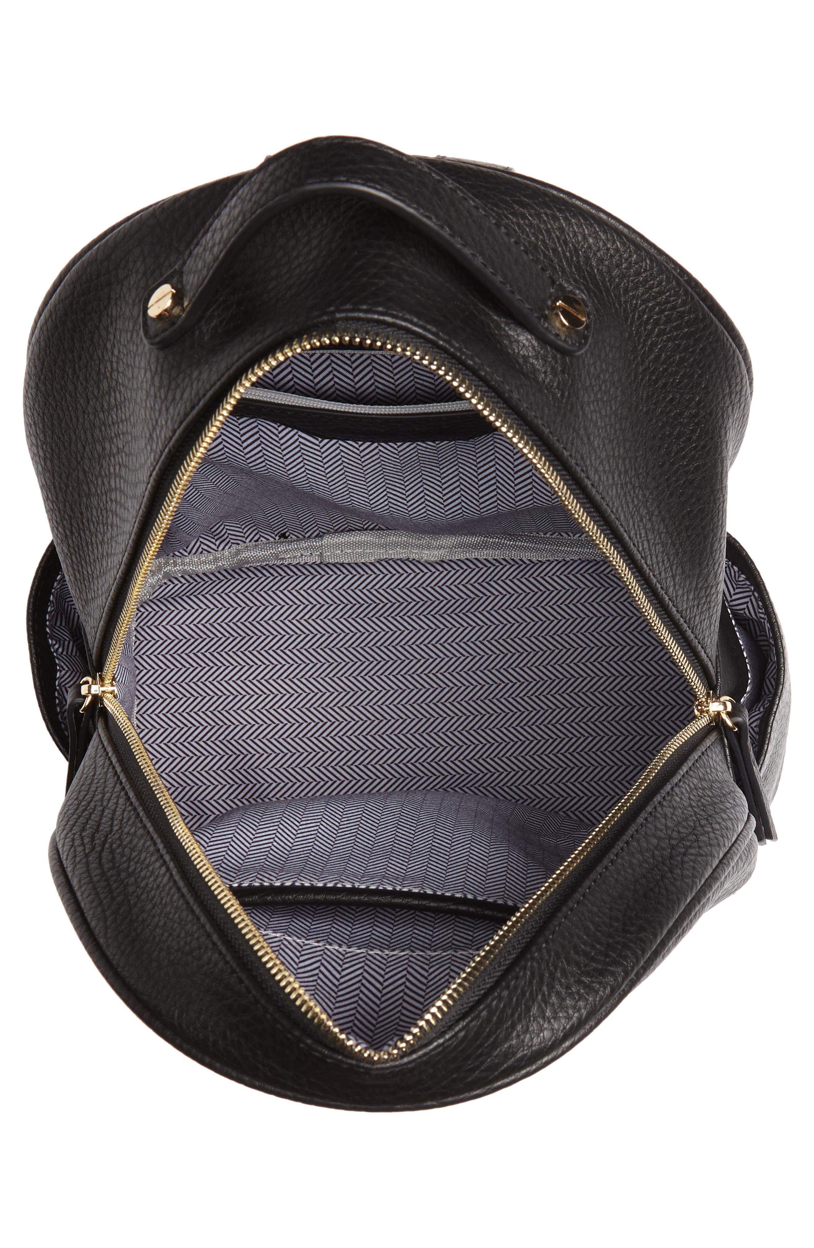 Mali + Lili Madison Vegan Leather Backpack,                             Alternate thumbnail 8, color,