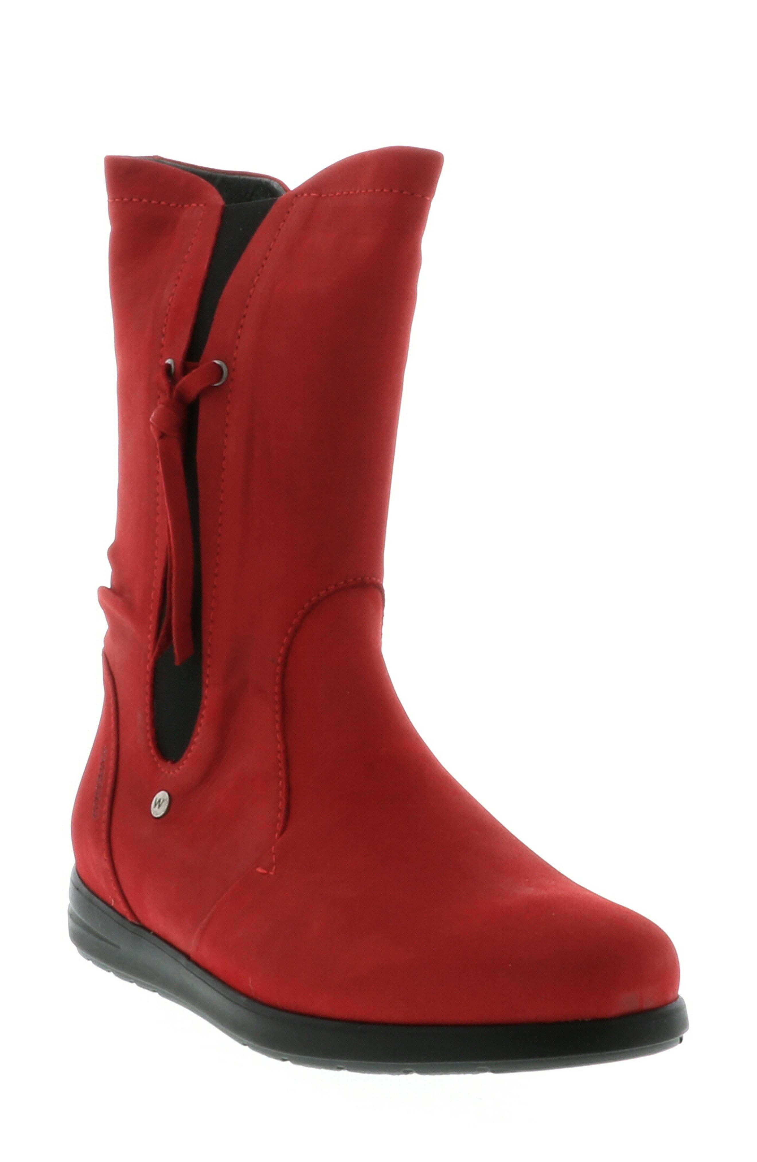 Wolky Newton Waterproof Boot, Red