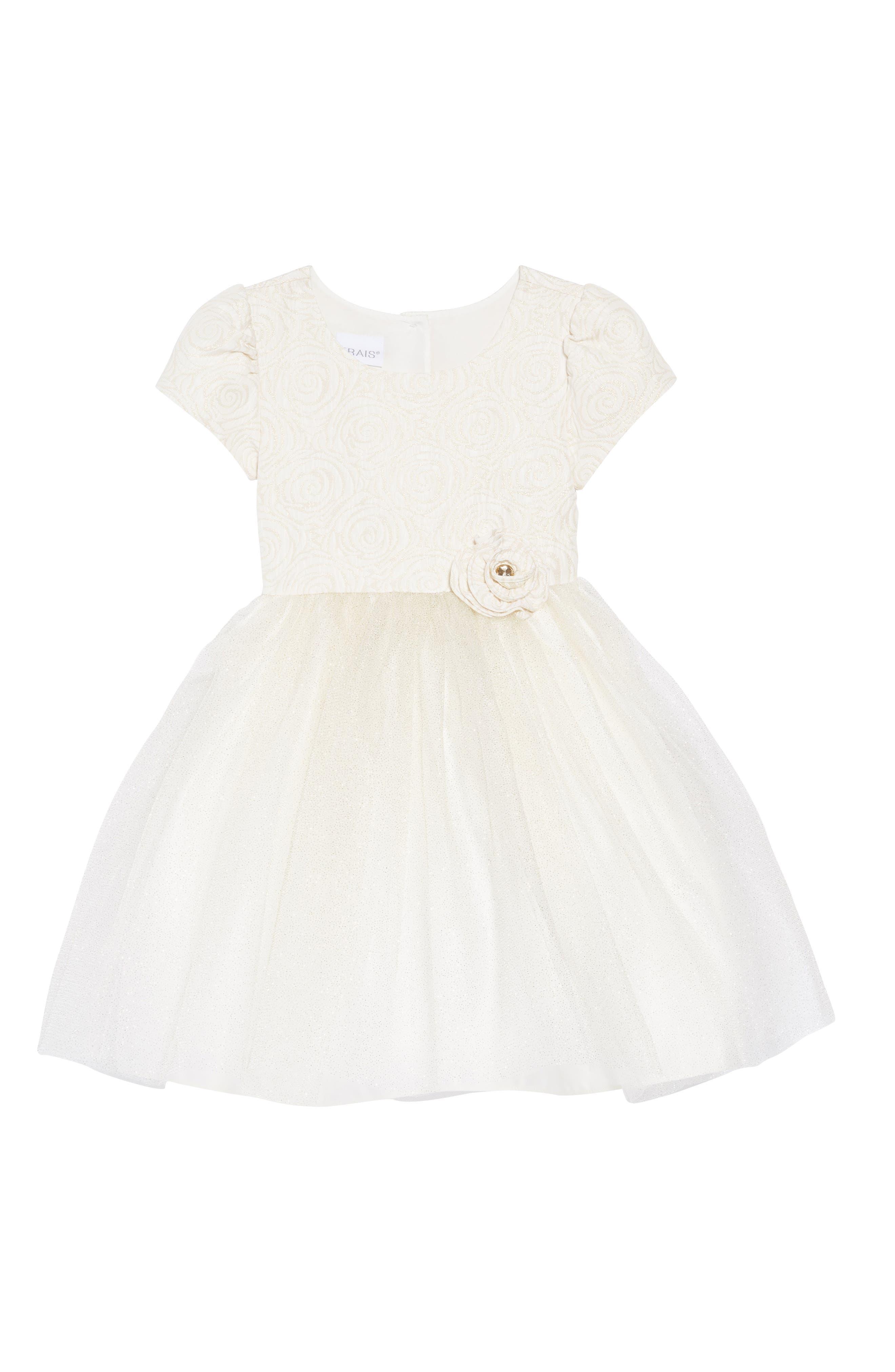 Girls Frais Cap Sleeve Dress