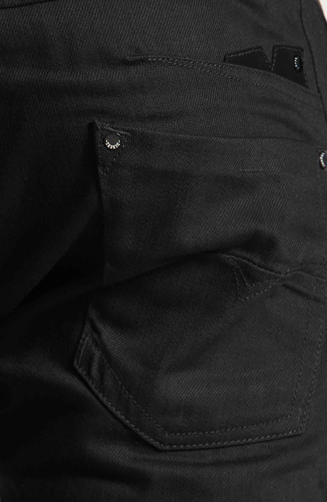 'Darron' Slim Fit Jeans,                             Alternate thumbnail 3, color,                             001