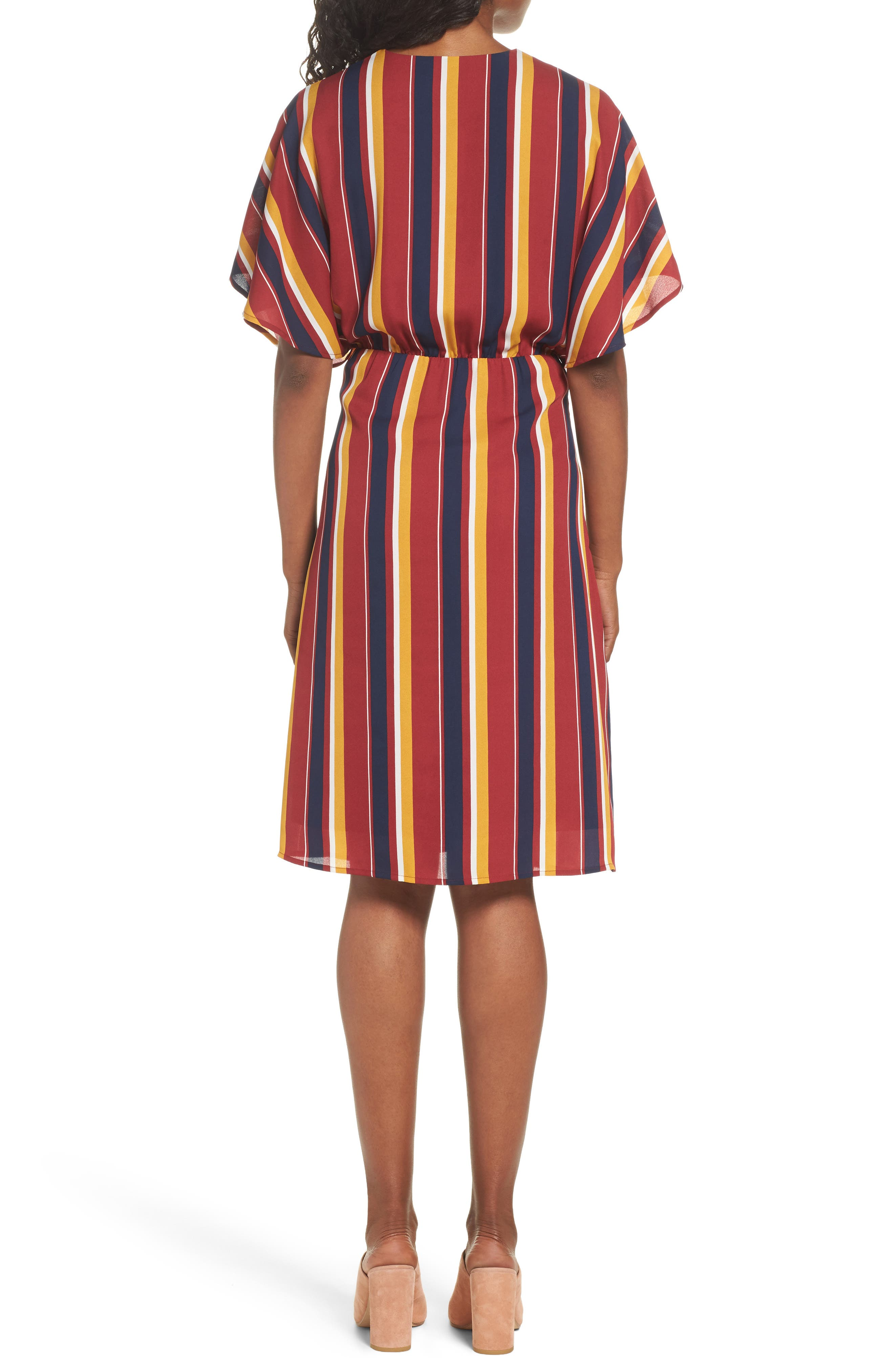 Dreamer Stripe Dress,                             Alternate thumbnail 2, color,                             646