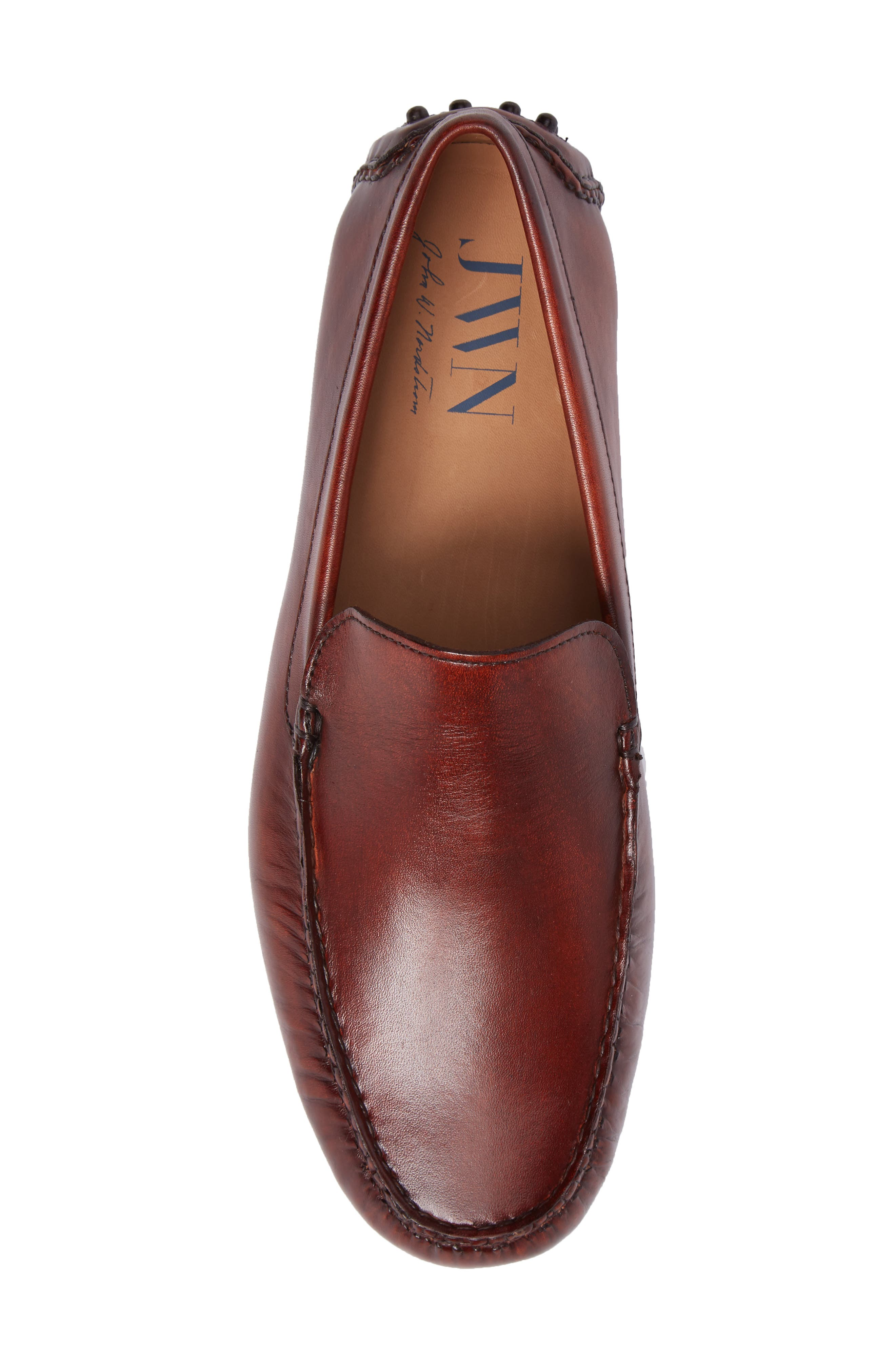 Cane Driving Shoe,                             Alternate thumbnail 5, color,                             TAN LEATHER