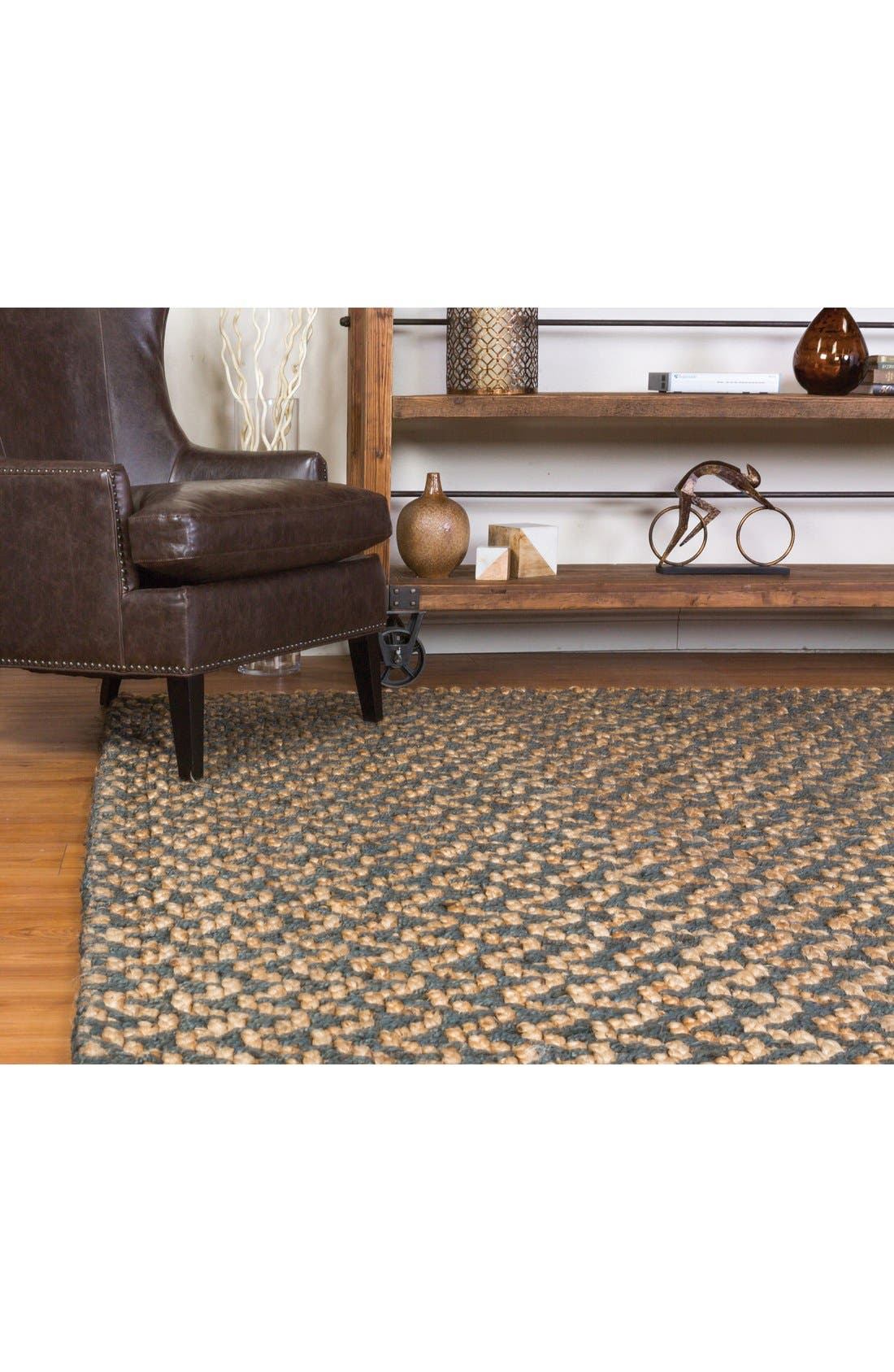Herringbone Handwoven Rug,                             Alternate thumbnail 2, color,                             020