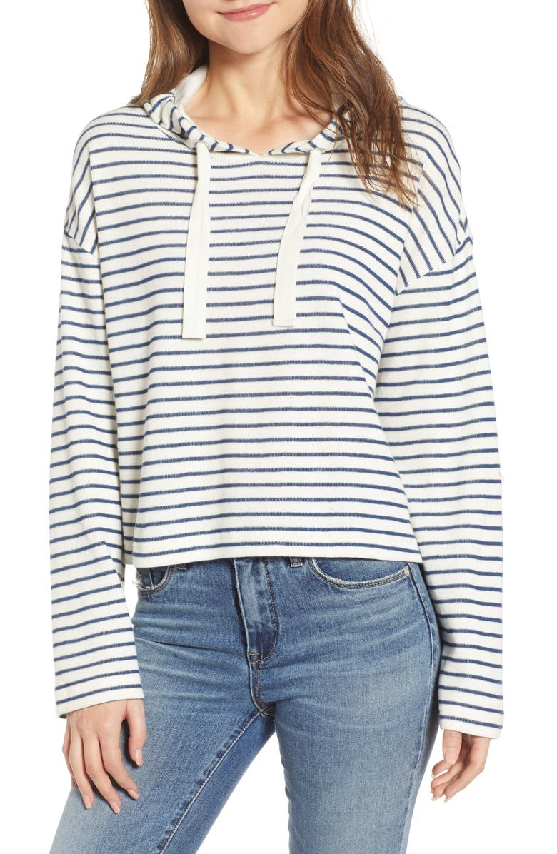 BP Stripe Hooded Pullover