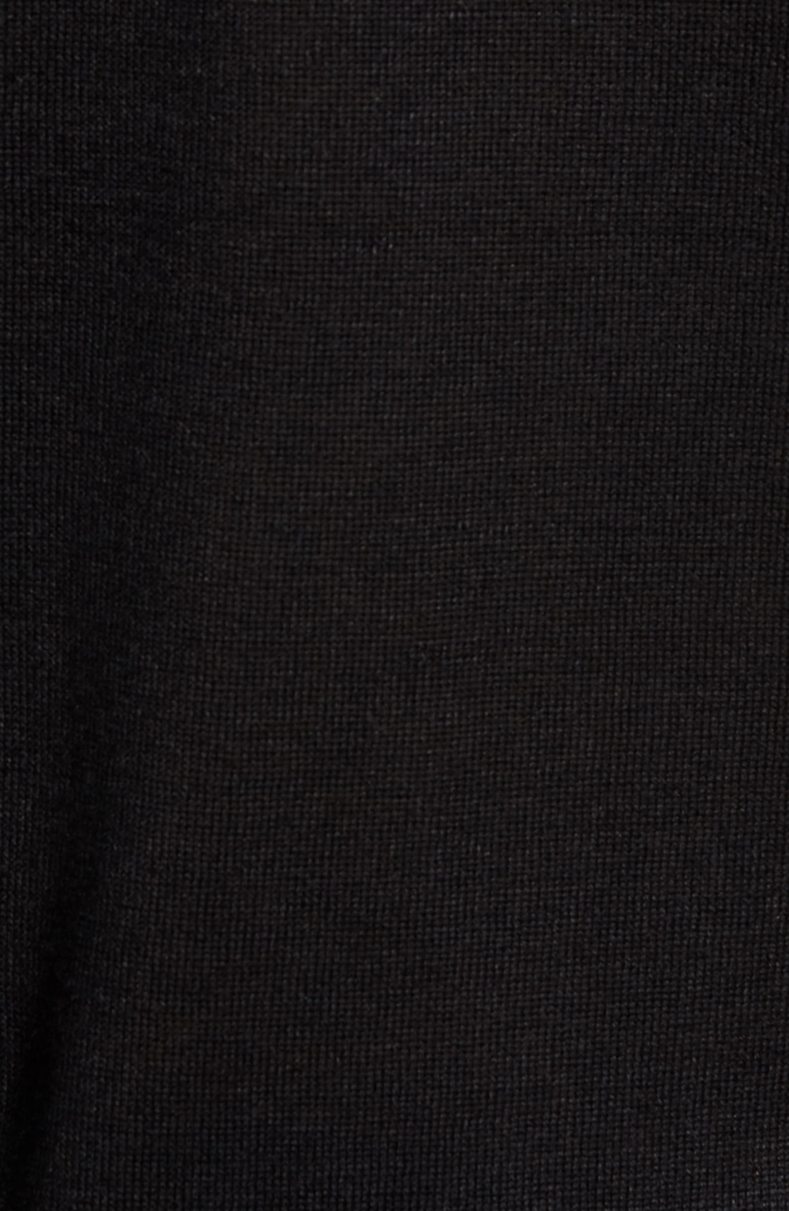 Linen Blend Henley,                             Alternate thumbnail 5, color,                             001