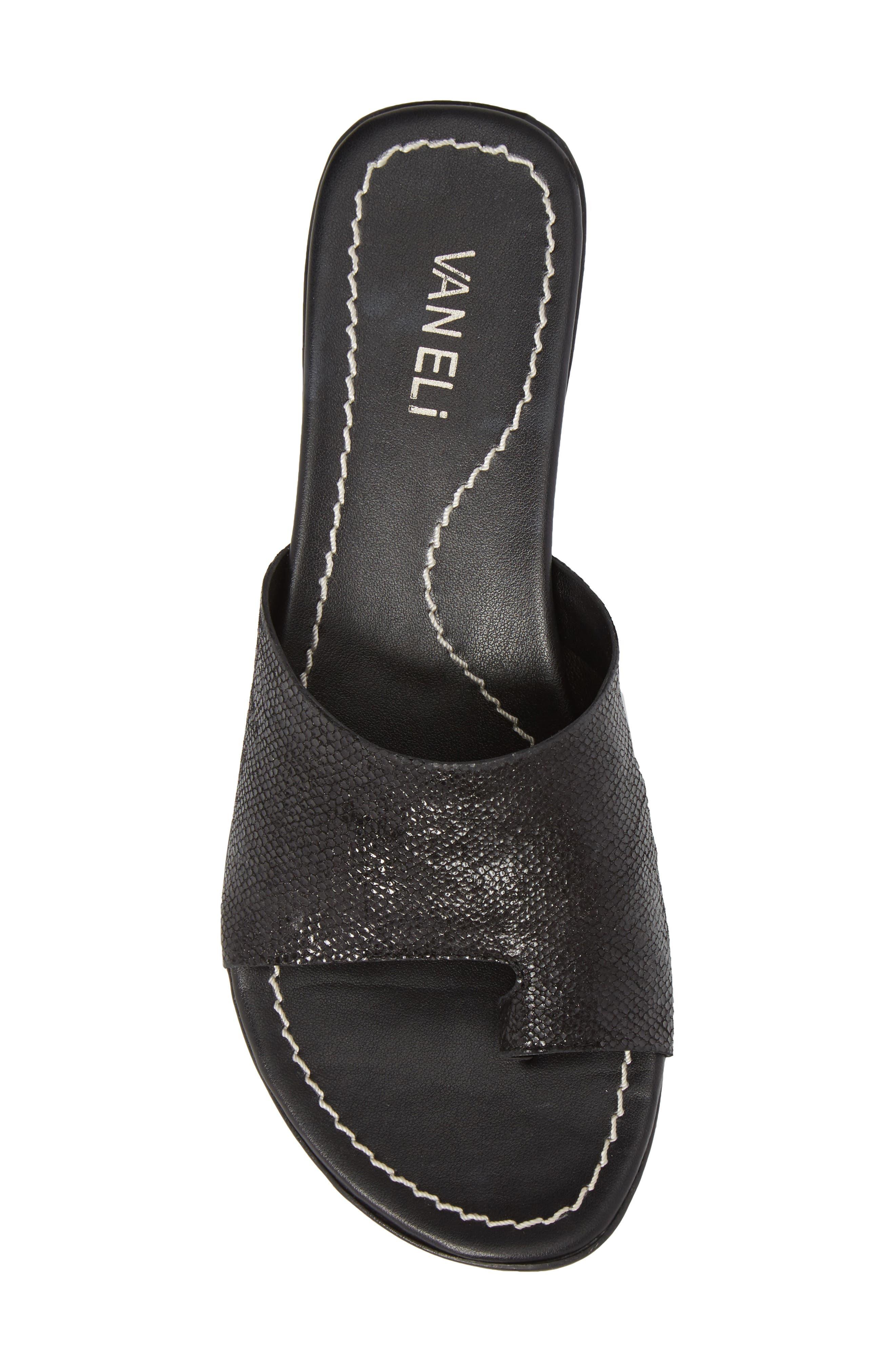 'Tallis' Snake Embossed Leather Slide Sandal,                             Alternate thumbnail 26, color,