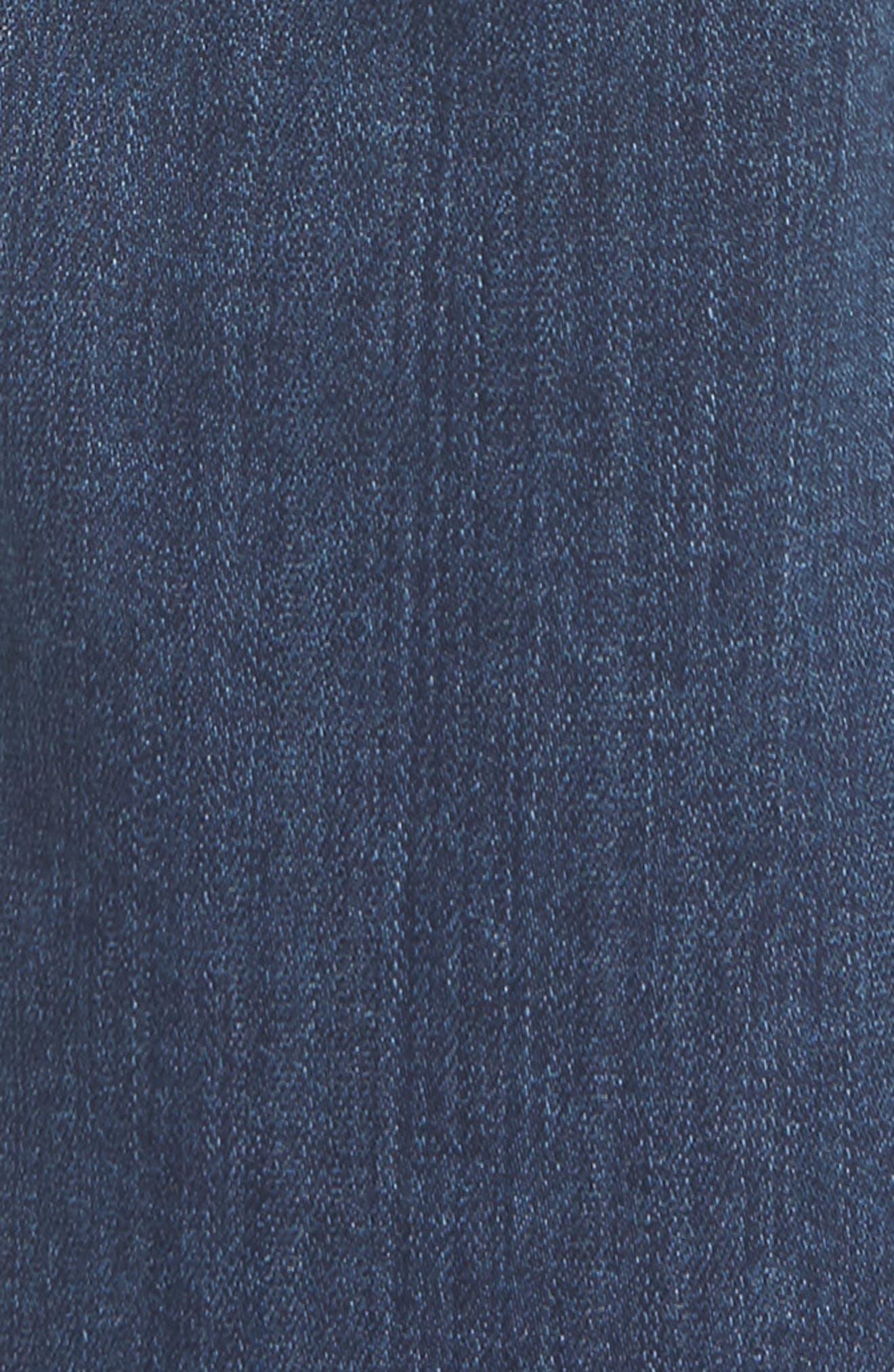 Normandie Straight Leg Jeans,                             Alternate thumbnail 5, color,                             400