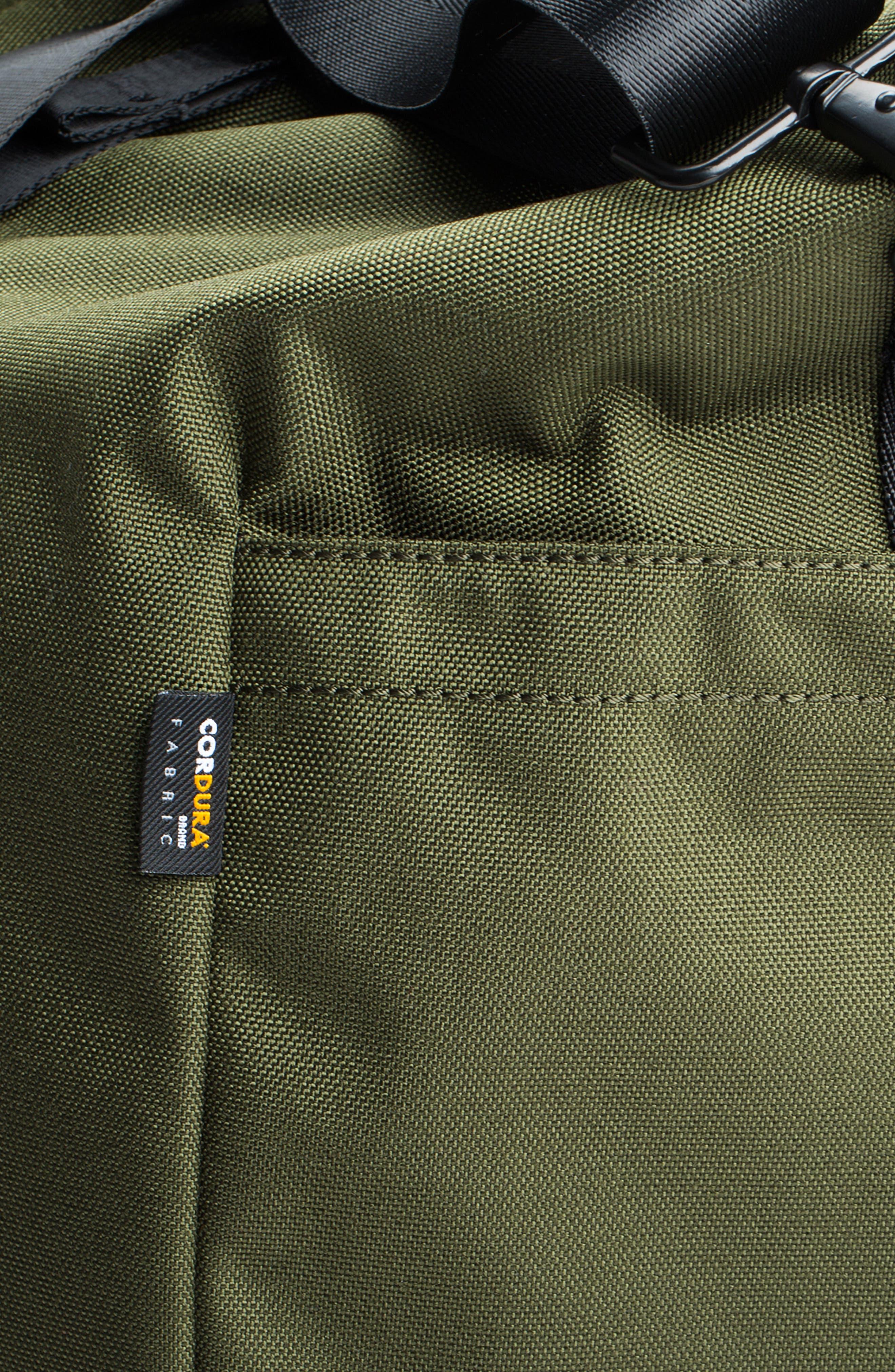 SWS 50L Roll Top Duffel Bag,                             Alternate thumbnail 9, color,                             OLIVE