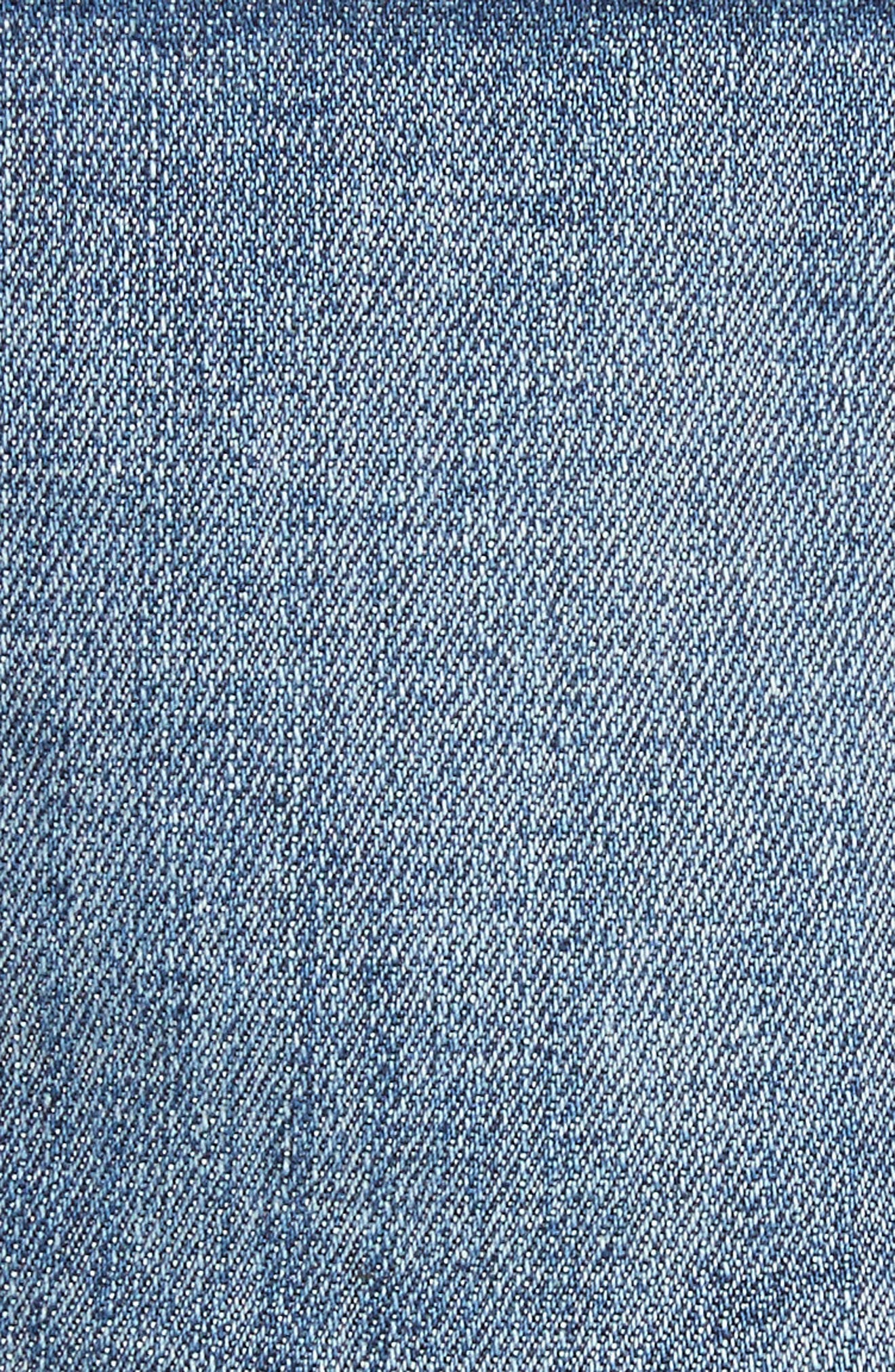 Le Cutoff Denim Shorts,                             Alternate thumbnail 10, color,