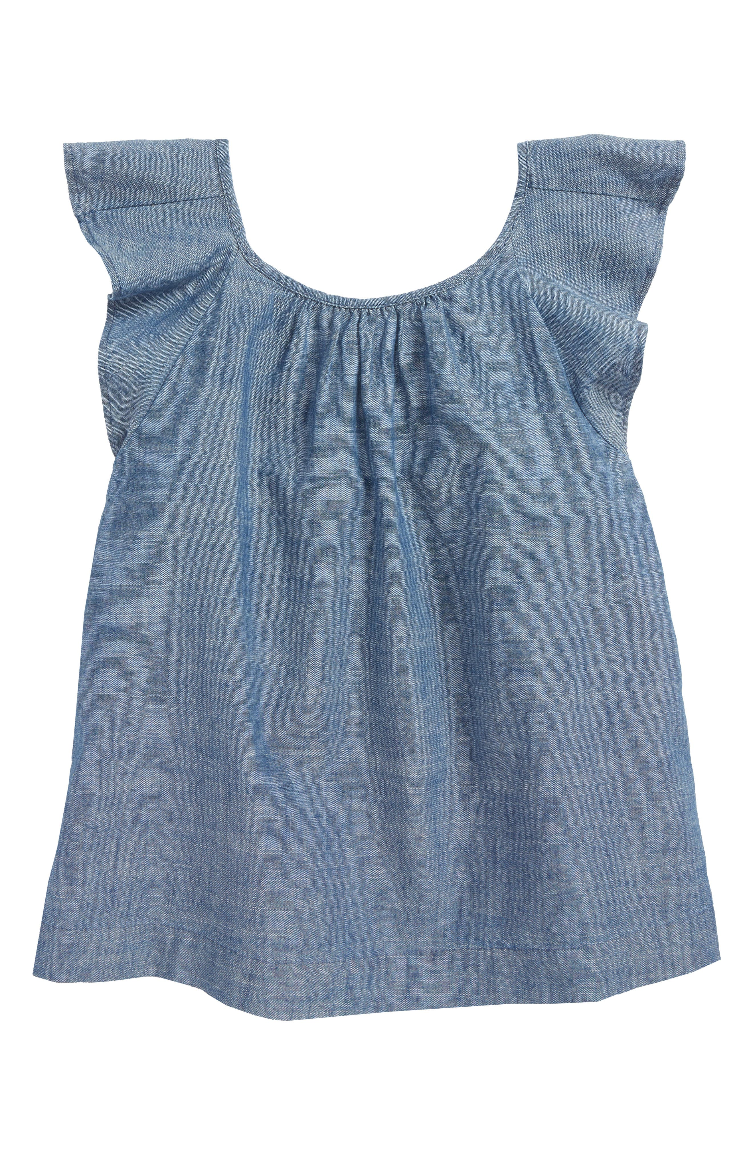 Gale Chambray Top,                         Main,                         color,