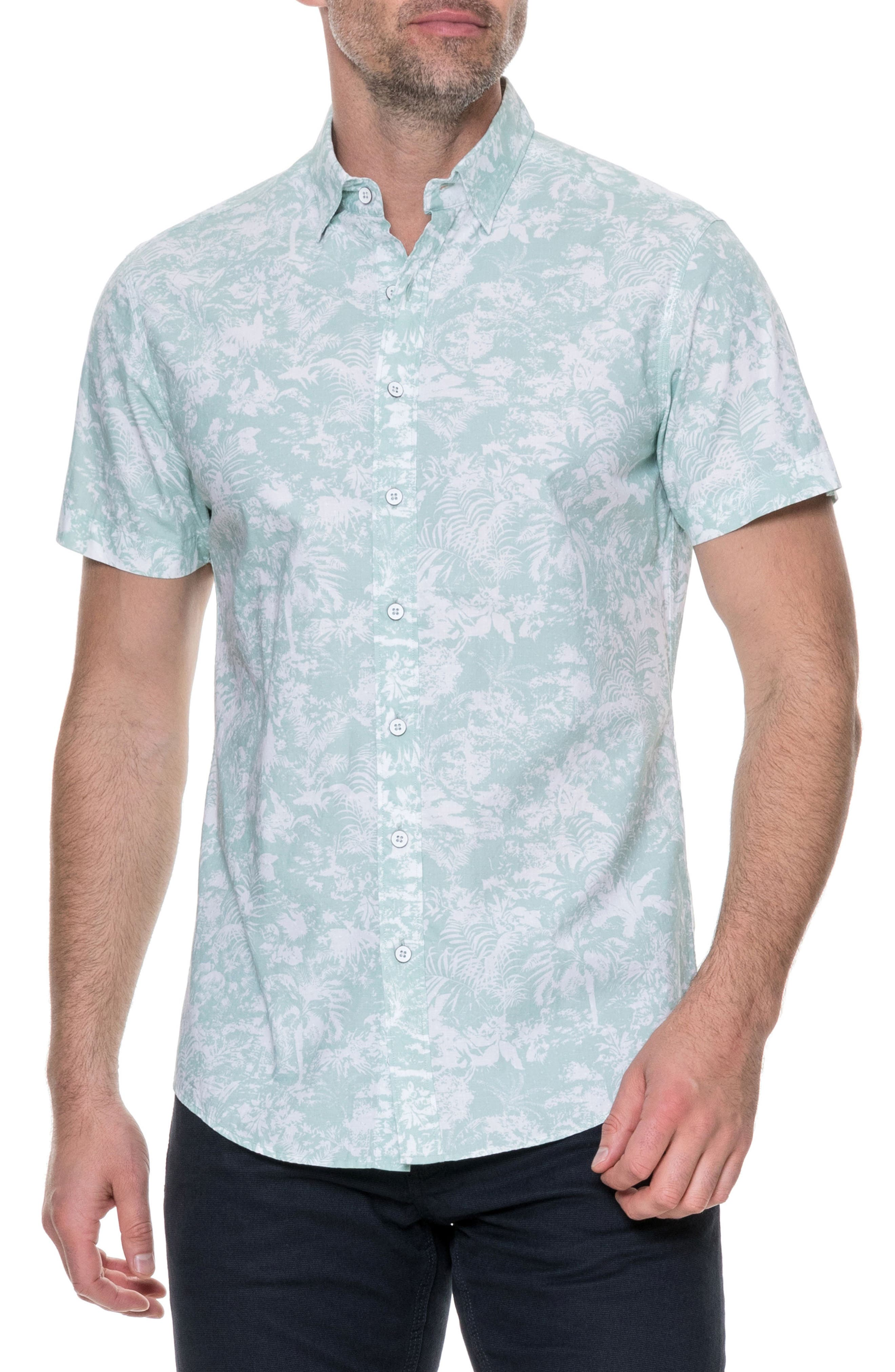 RODD & GUNN Redcastle Regular Fit Sport Shirt, Main, color, POWDER BLUE