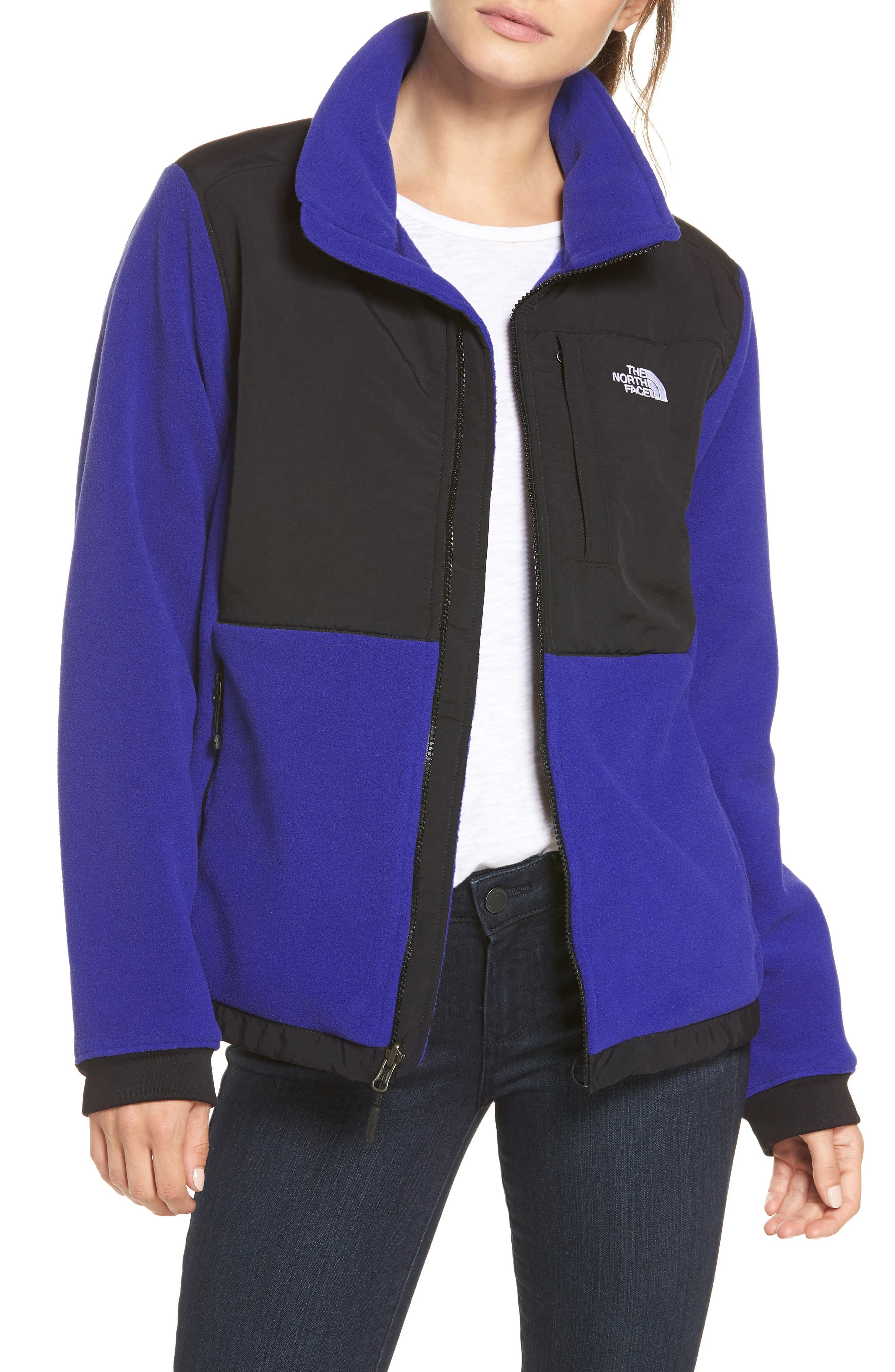 Denali 2 Jacket,                             Main thumbnail 1, color,                             LAPIS BLUE/ TNF BLACK